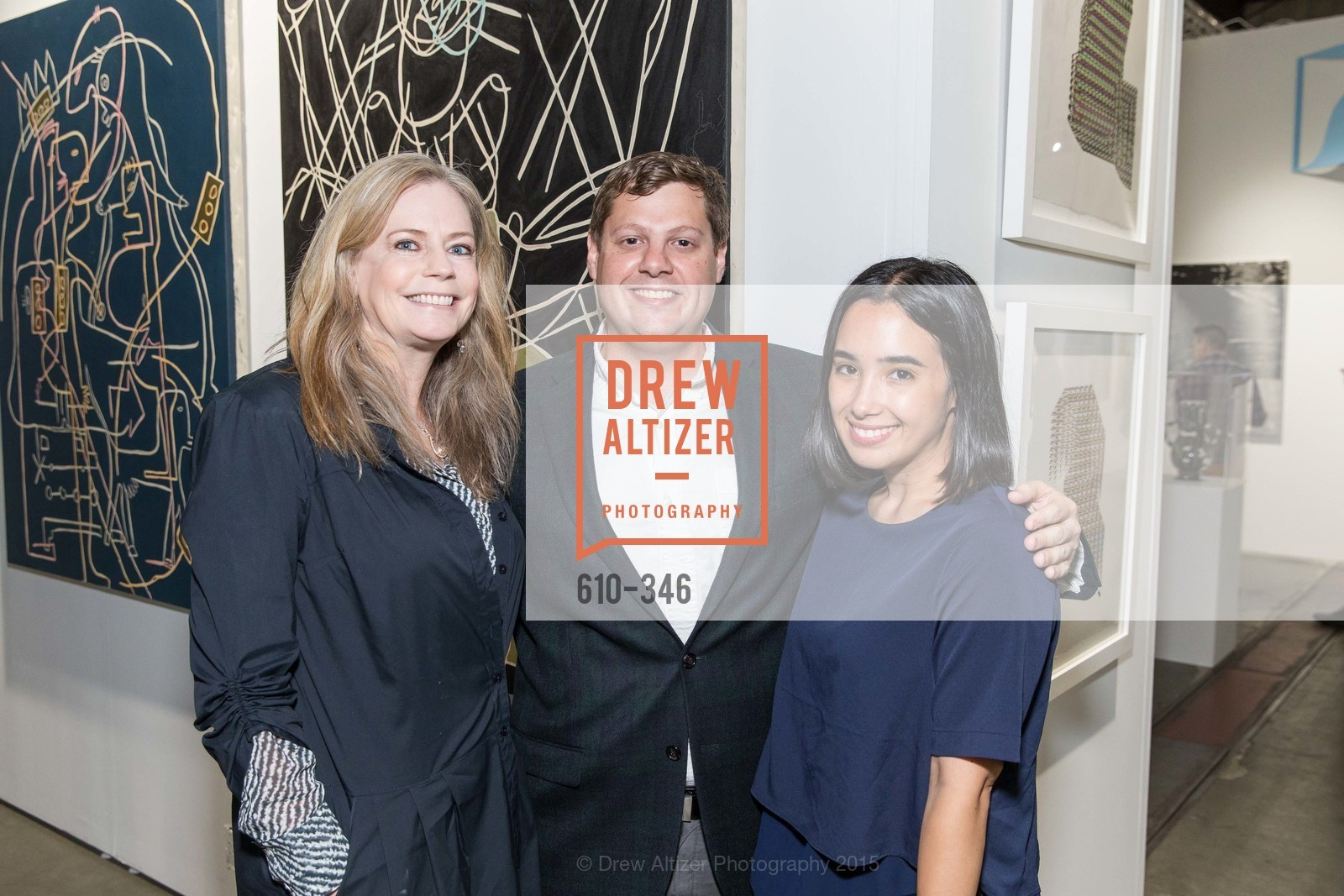 Wendy Fisher, Piero Spadaro, Kay Jaramillo, Art Miami Presents: Art Silicon Valley, San Mateo County Event Center. 1346 Saratoga Dr, October 8th, 2015,Drew Altizer, Drew Altizer Photography, full-service agency, private events, San Francisco photographer, photographer california