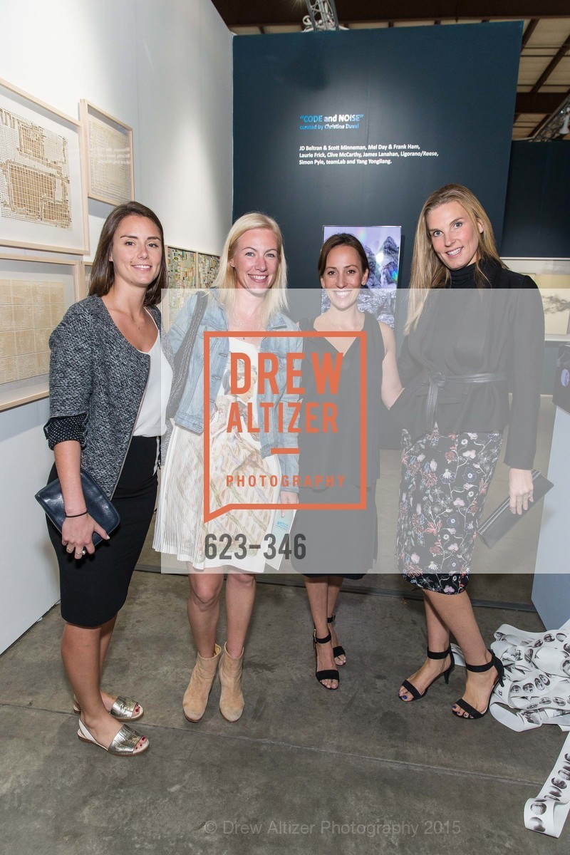 Justine Chausson, Elizatheh Sullivan, Courtney Kass, Molly Kardwell, Art Miami Presents: Art Silicon Valley, San Mateo County Event Center. 1346 Saratoga Dr, October 8th, 2015,Drew Altizer, Drew Altizer Photography, full-service agency, private events, San Francisco photographer, photographer california