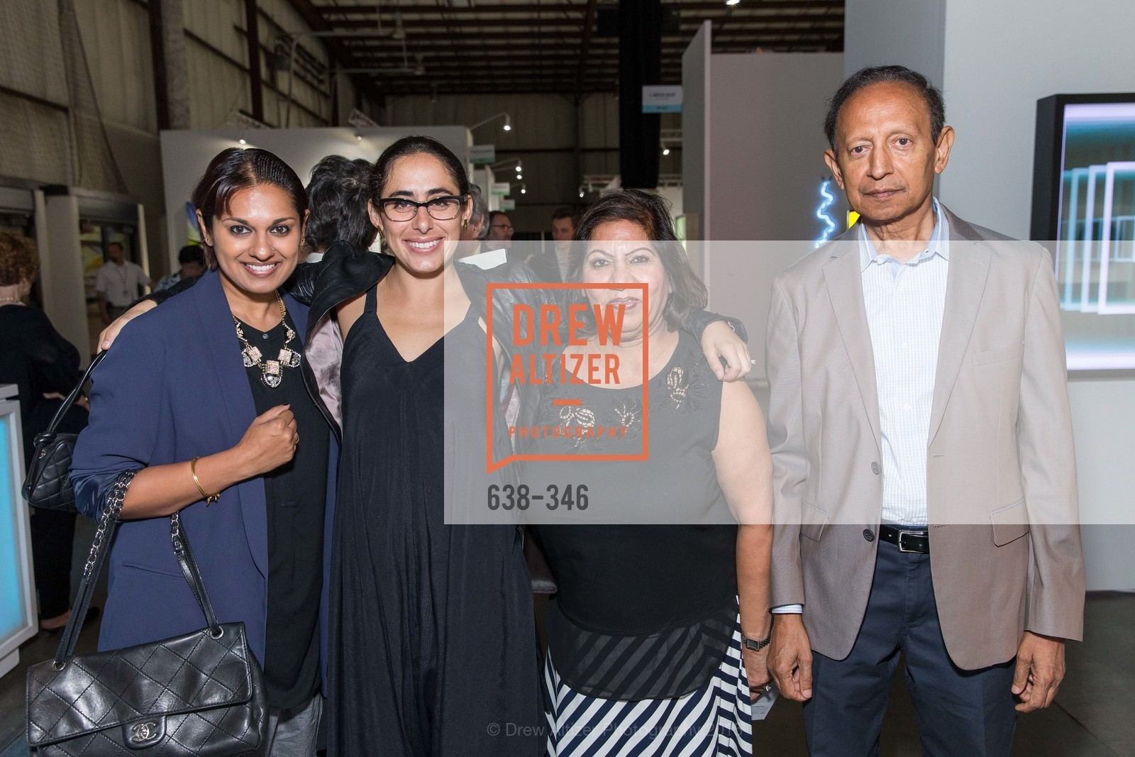 Rashmi Bachireddy, Brooke Gerson, Bima Kumar, Vijay Kumar, Art Miami Presents: Art Silicon Valley, San Mateo County Event Center. 1346 Saratoga Dr, October 8th, 2015,Drew Altizer, Drew Altizer Photography, full-service agency, private events, San Francisco photographer, photographer california