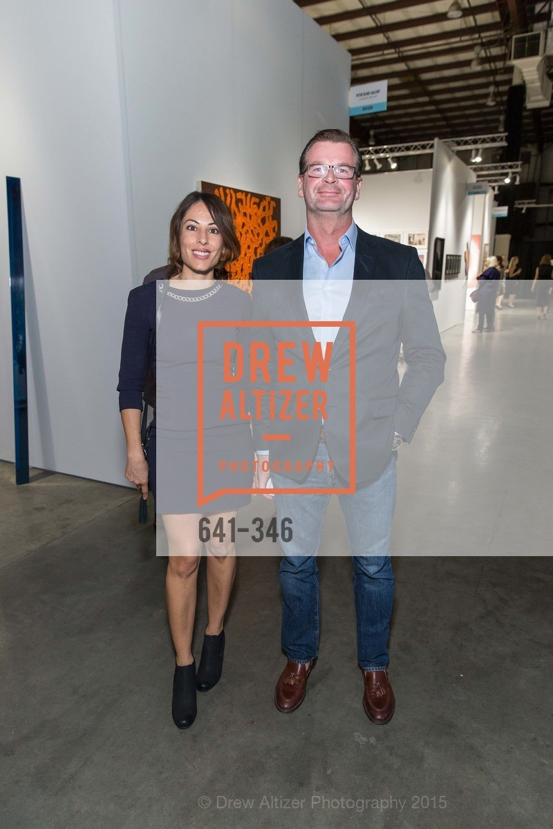 Melissa Barbagallo, Francois Renet, Art Miami Presents: Art Silicon Valley, San Mateo County Event Center. 1346 Saratoga Dr, October 8th, 2015,Drew Altizer, Drew Altizer Photography, full-service agency, private events, San Francisco photographer, photographer california
