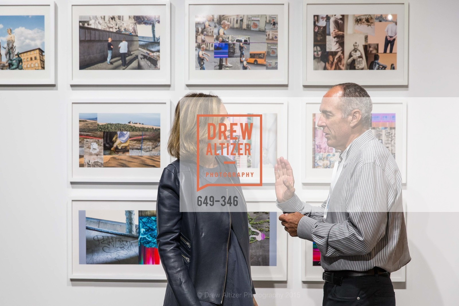 Vanessa Suchar-Marcus, James Lanahan, Art Miami Presents: Art Silicon Valley, San Mateo County Event Center. 1346 Saratoga Dr, October 8th, 2015,Drew Altizer, Drew Altizer Photography, full-service agency, private events, San Francisco photographer, photographer california