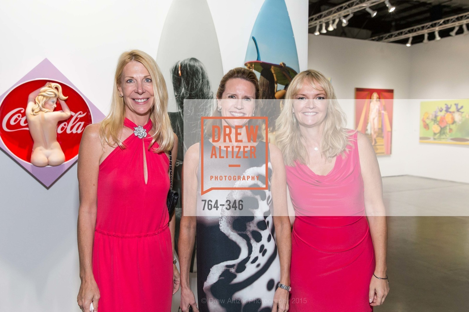 Catherine Larson, Barbaran Vaughn, Sarah Lewis, Art Miami Presents: Art Silicon Valley, San Mateo County Event Center. 1346 Saratoga Dr, October 8th, 2015,Drew Altizer, Drew Altizer Photography, full-service agency, private events, San Francisco photographer, photographer california