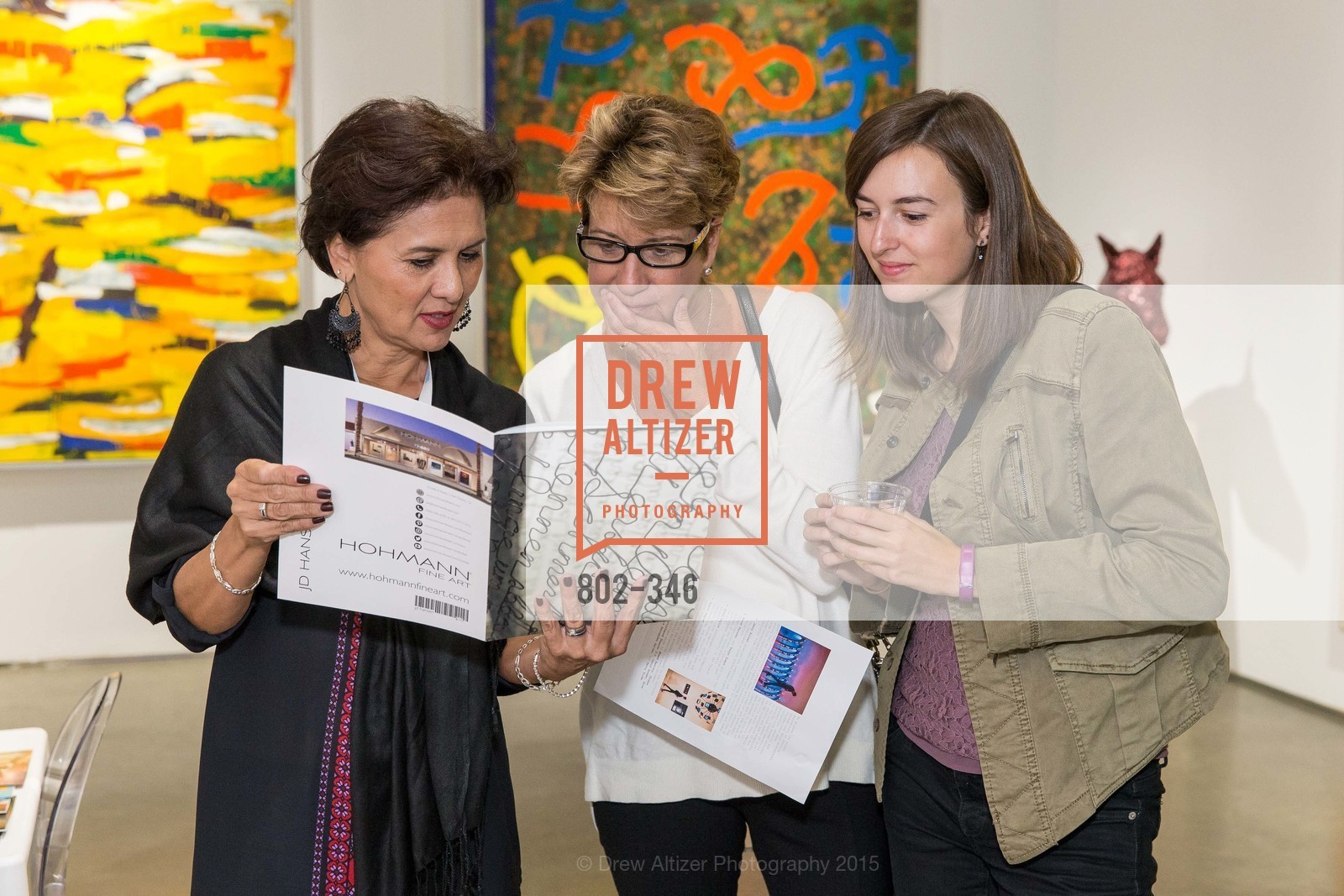 Loretta Mosher, Martha Stevenson, Michelle Stevenson, Art Miami Presents: Art Silicon Valley, San Mateo County Event Center. 1346 Saratoga Dr, October 8th, 2015,Drew Altizer, Drew Altizer Photography, full-service agency, private events, San Francisco photographer, photographer california