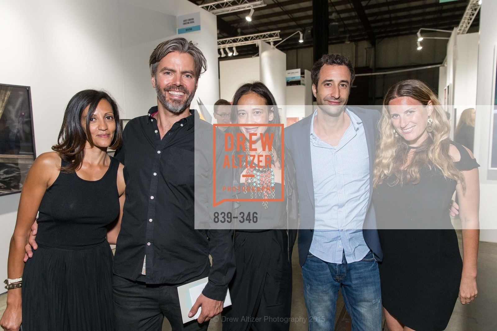 Yael Putterman, Tim Paschke, Marissa Halbrecht, Johnathan Weizman, Lysee Kaye, Art Miami Presents: Art Silicon Valley, San Mateo County Event Center. 1346 Saratoga Dr, October 8th, 2015,Drew Altizer, Drew Altizer Photography, full-service agency, private events, San Francisco photographer, photographer california