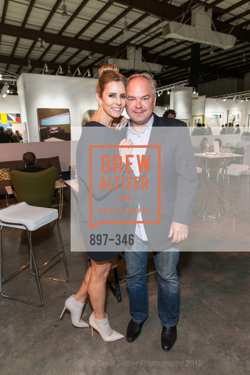 Susan Blanco, Walker Bass, Art Miami Presents: Art Silicon Valley, San Mateo County Event Center. 1346 Saratoga Dr, October 8th, 2015,Drew Altizer, Drew Altizer Photography, full-service event agency, private events, San Francisco photographer, photographer California