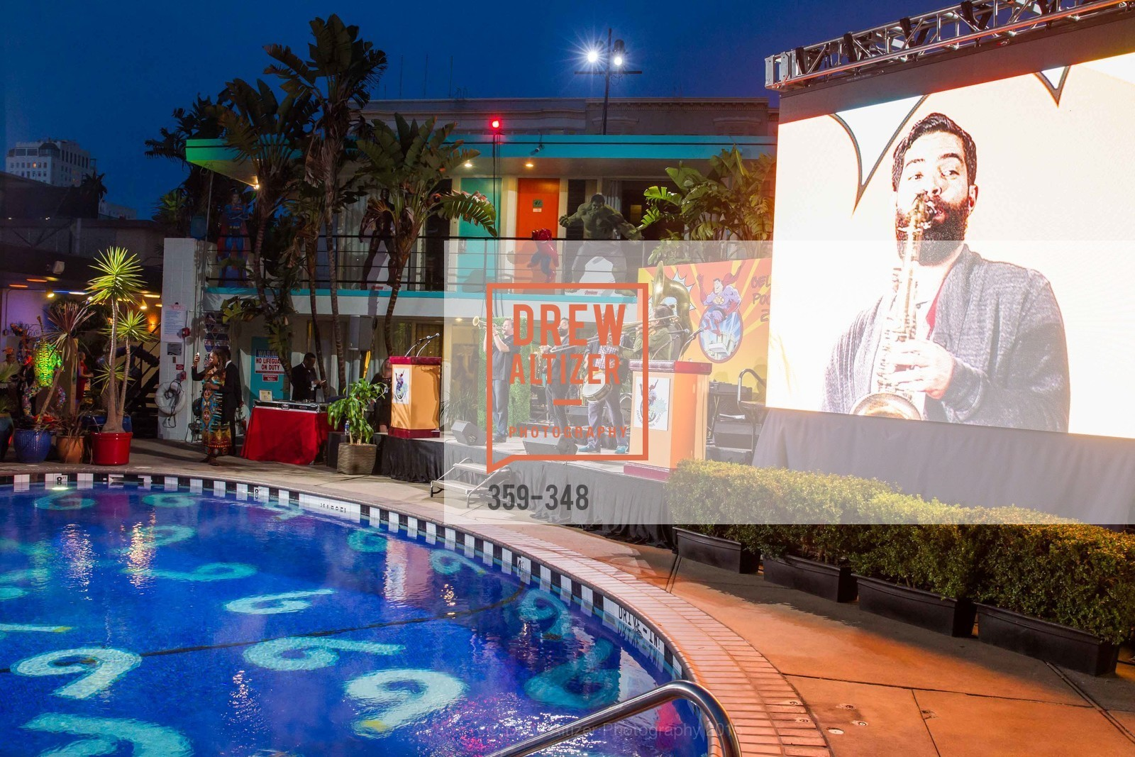 Atmosphere, TNDC Annual Celebrity Pool Toss, Phoenix Hotel. 601 Eddy St, October 7th, 2015,Drew Altizer, Drew Altizer Photography, full-service event agency, private events, San Francisco photographer, photographer California