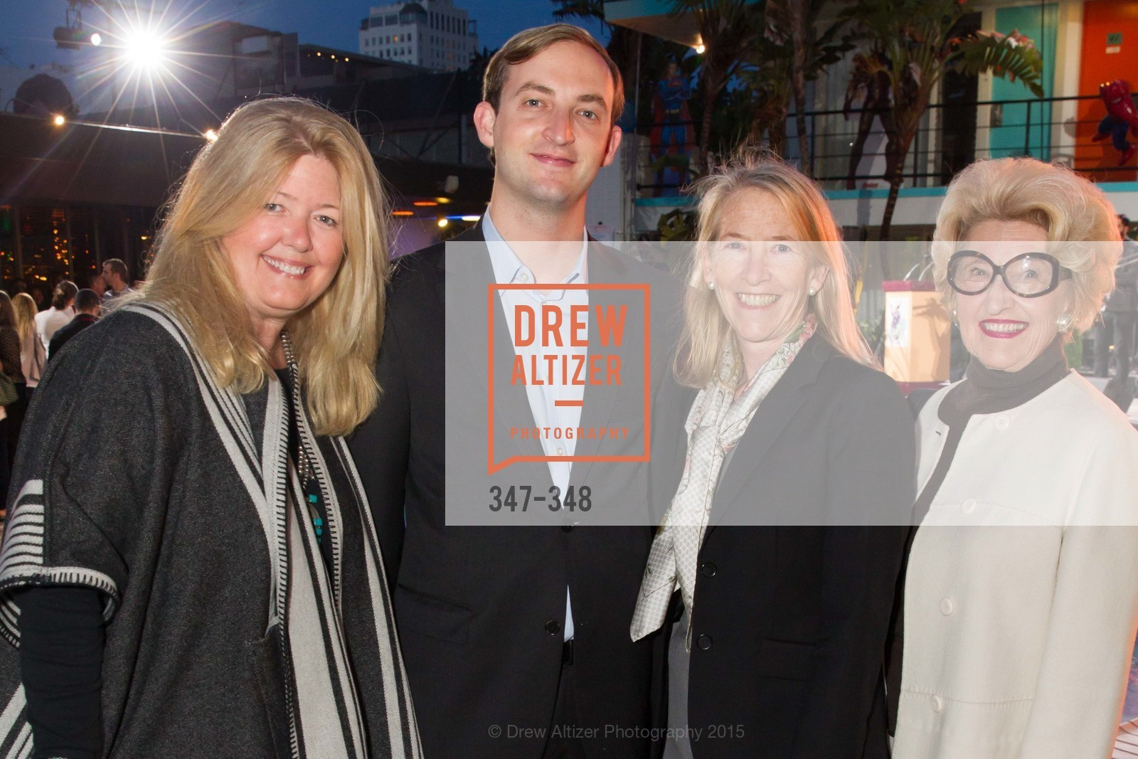 Reese Relfe, Roger Gallagher, Maura Walsh, Genelle Relfe, TNDC Annual Celebrity Pool Toss, Phoenix Hotel. 601 Eddy St, October 7th, 2015,Drew Altizer, Drew Altizer Photography, full-service event agency, private events, San Francisco photographer, photographer California