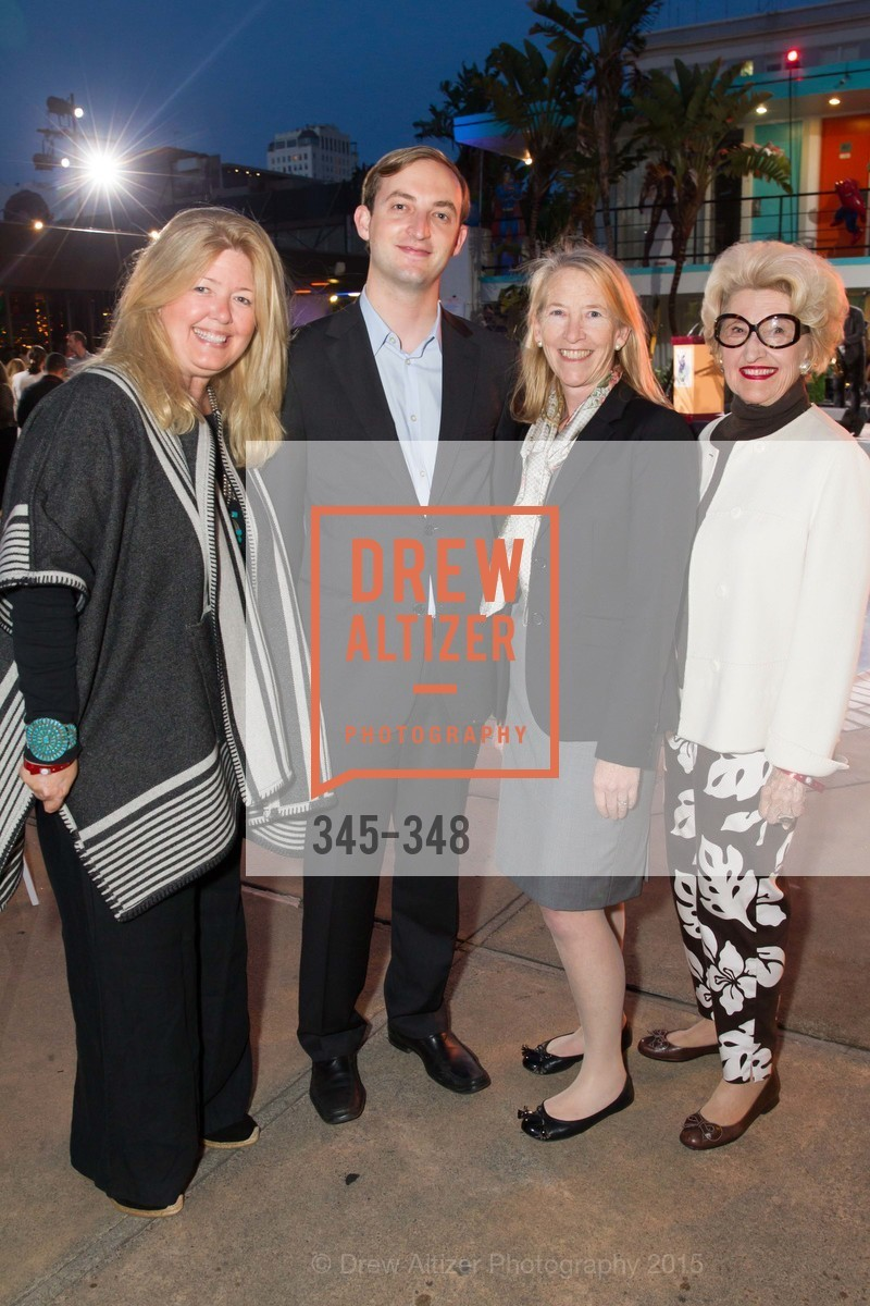 Reese Relfe, Roger Gallagher, Maura Walsh, Genelle Relfe, TNDC Annual Celebrity Pool Toss, Phoenix Hotel. 601 Eddy St, October 7th, 2015,Drew Altizer, Drew Altizer Photography, full-service agency, private events, San Francisco photographer, photographer california