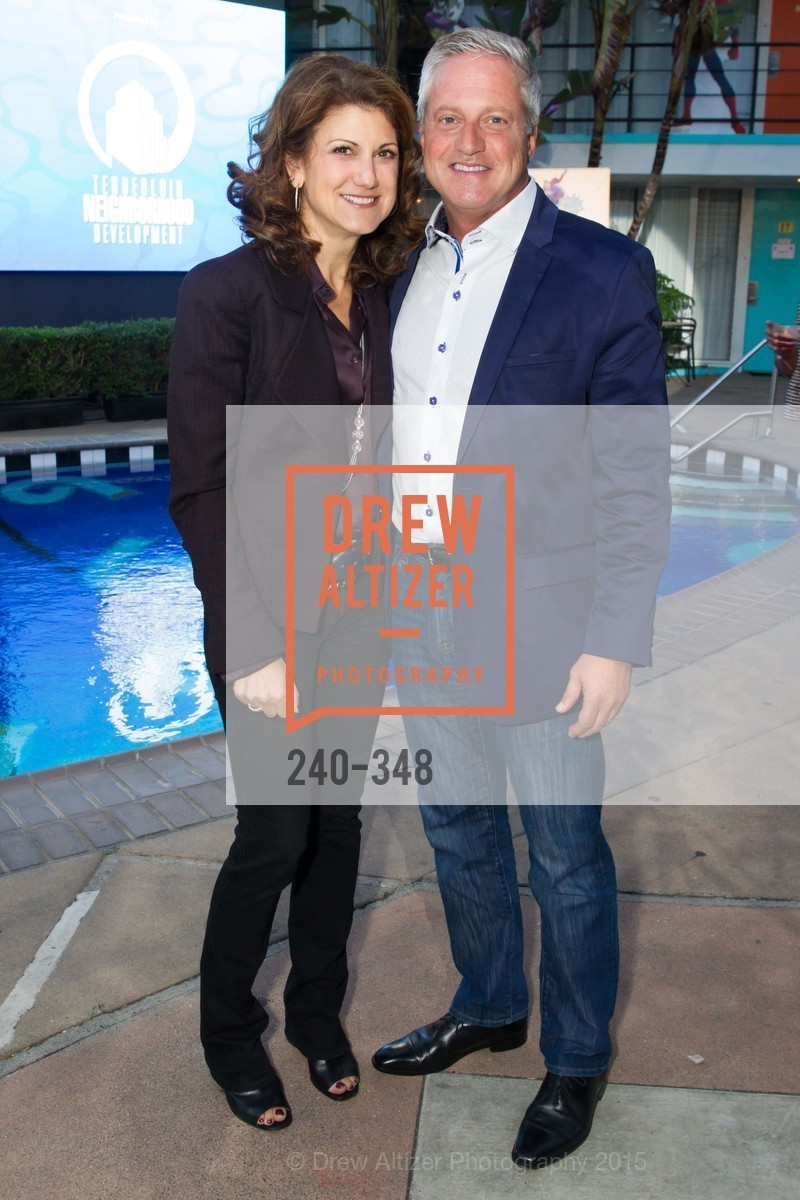 Niki Leondakis, Brian Jones, TNDC Annual Celebrity Pool Toss, Phoenix Hotel. 601 Eddy St, October 7th, 2015,Drew Altizer, Drew Altizer Photography, full-service agency, private events, San Francisco photographer, photographer california