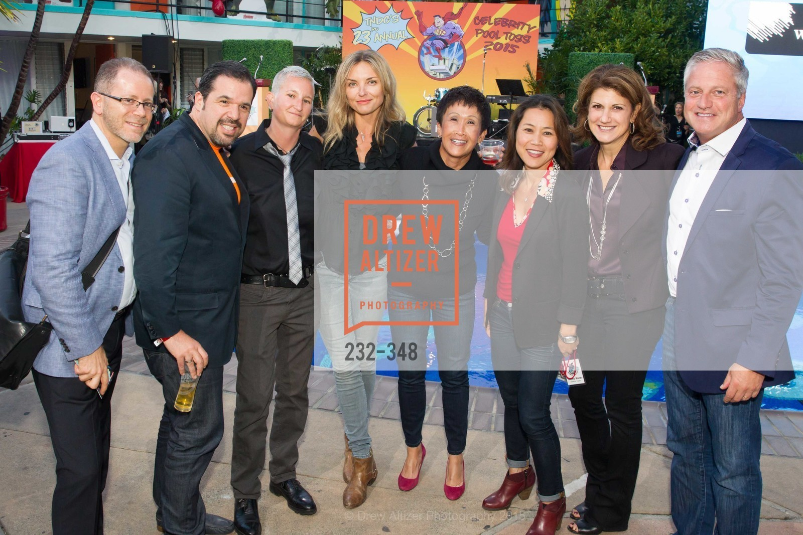 Peter Gamus, Diane Leach, Karolina Kielbowicz, Pat Bridgette, Niki Leondakis, Brian Jones, TNDC Annual Celebrity Pool Toss, Phoenix Hotel. 601 Eddy St, October 7th, 2015,Drew Altizer, Drew Altizer Photography, full-service agency, private events, San Francisco photographer, photographer california