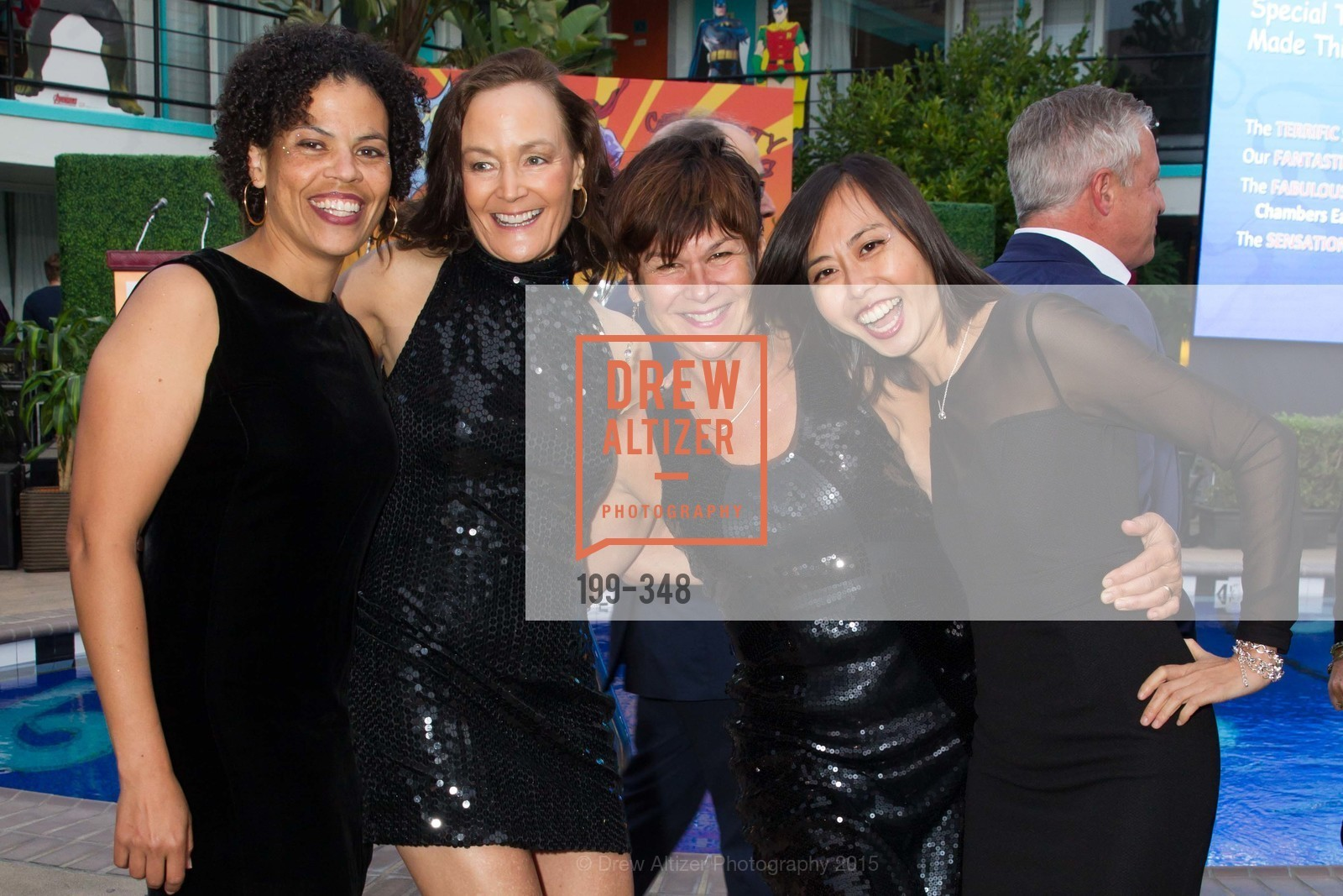 Anne Griffith, Noreen Beiro, Pat Brigette, Mai Tran, TNDC Annual Celebrity Pool Toss, Phoenix Hotel. 601 Eddy St, October 7th, 2015,Drew Altizer, Drew Altizer Photography, full-service agency, private events, San Francisco photographer, photographer california