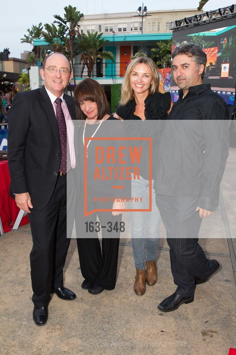 Tom Klein, Barbara Klein, Karolina Kielbowicz, Hooman Khalili, TNDC Annual Celebrity Pool Toss, Phoenix Hotel. 601 Eddy St, October 7th, 2015,Drew Altizer, Drew Altizer Photography, full-service agency, private events, San Francisco photographer, photographer california
