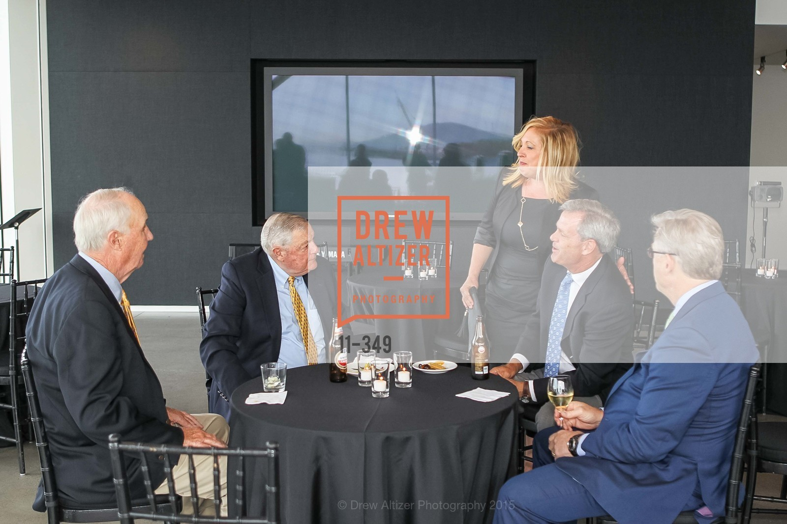 Jim McCarthy, Ken Derr, Jill Cunningham, Steve Klein, Bill Ring, Cocktails on the Pier- A BASIC Fund Thank You, Pier 24 Photography. 24 Pier The Embarcadero, October 8th, 2015,Drew Altizer, Drew Altizer Photography, full-service agency, private events, San Francisco photographer, photographer california