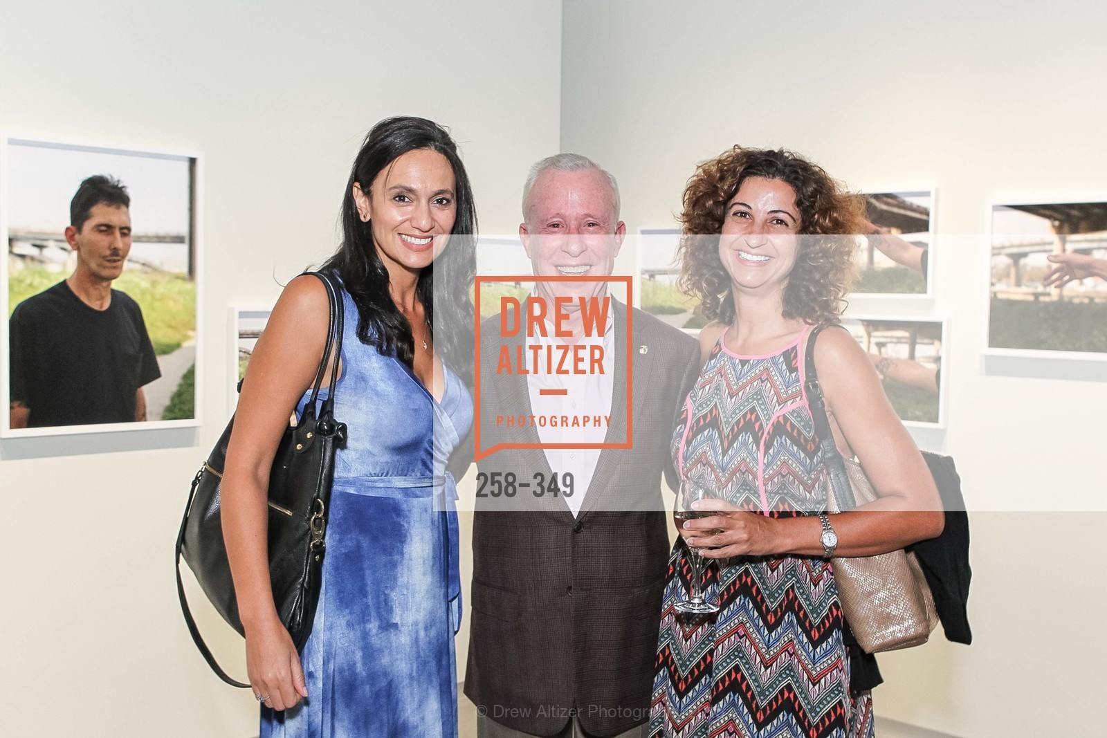 Heba Desouky, Stephen Doyle, Miriam White, Cocktails on the Pier- A BASIC Fund Thank You, Pier 24 Photography. 24 Pier The Embarcadero, October 8th, 2015,Drew Altizer, Drew Altizer Photography, full-service agency, private events, San Francisco photographer, photographer california
