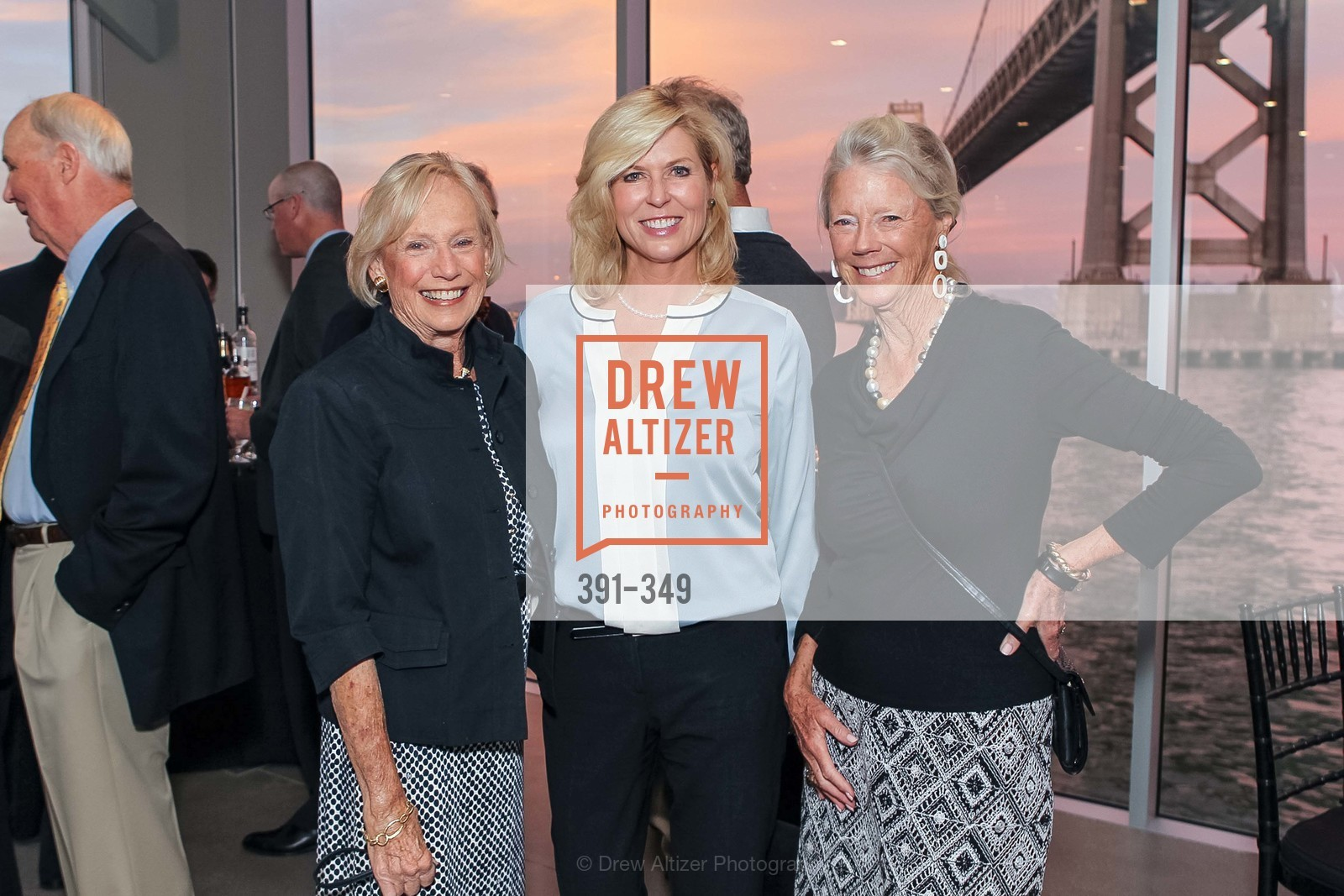 Donna Derr, Elizabeth Griggs, Daphne Bertero, Cocktails on the Pier- A BASIC Fund Thank You, Pier 24 Photography. 24 Pier The Embarcadero, October 8th, 2015,Drew Altizer, Drew Altizer Photography, full-service agency, private events, San Francisco photographer, photographer california