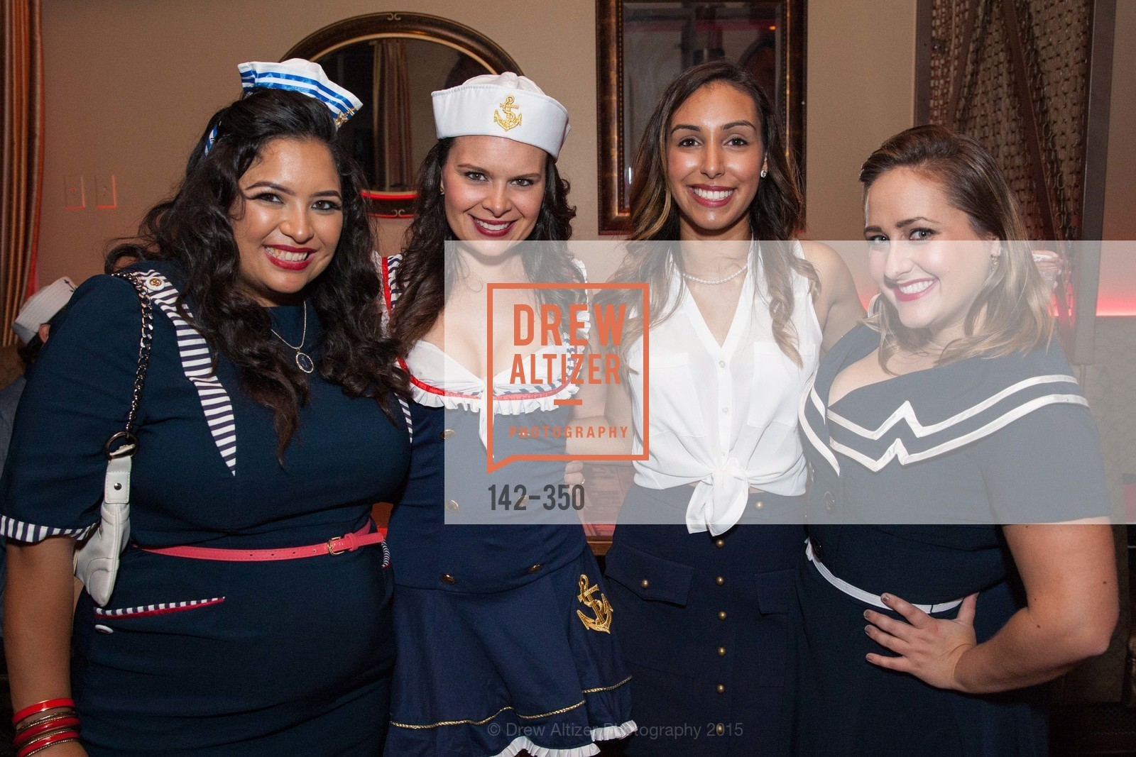 Deyanira Medina, Becky Daugherty, Cassandra Rica, Kelsey Luoma, Spinsters of San Francisco Presents: Fleet or Flight, Mayes Oyster House. 1233 Polk St, October 9th, 2015,Drew Altizer, Drew Altizer Photography, full-service agency, private events, San Francisco photographer, photographer california