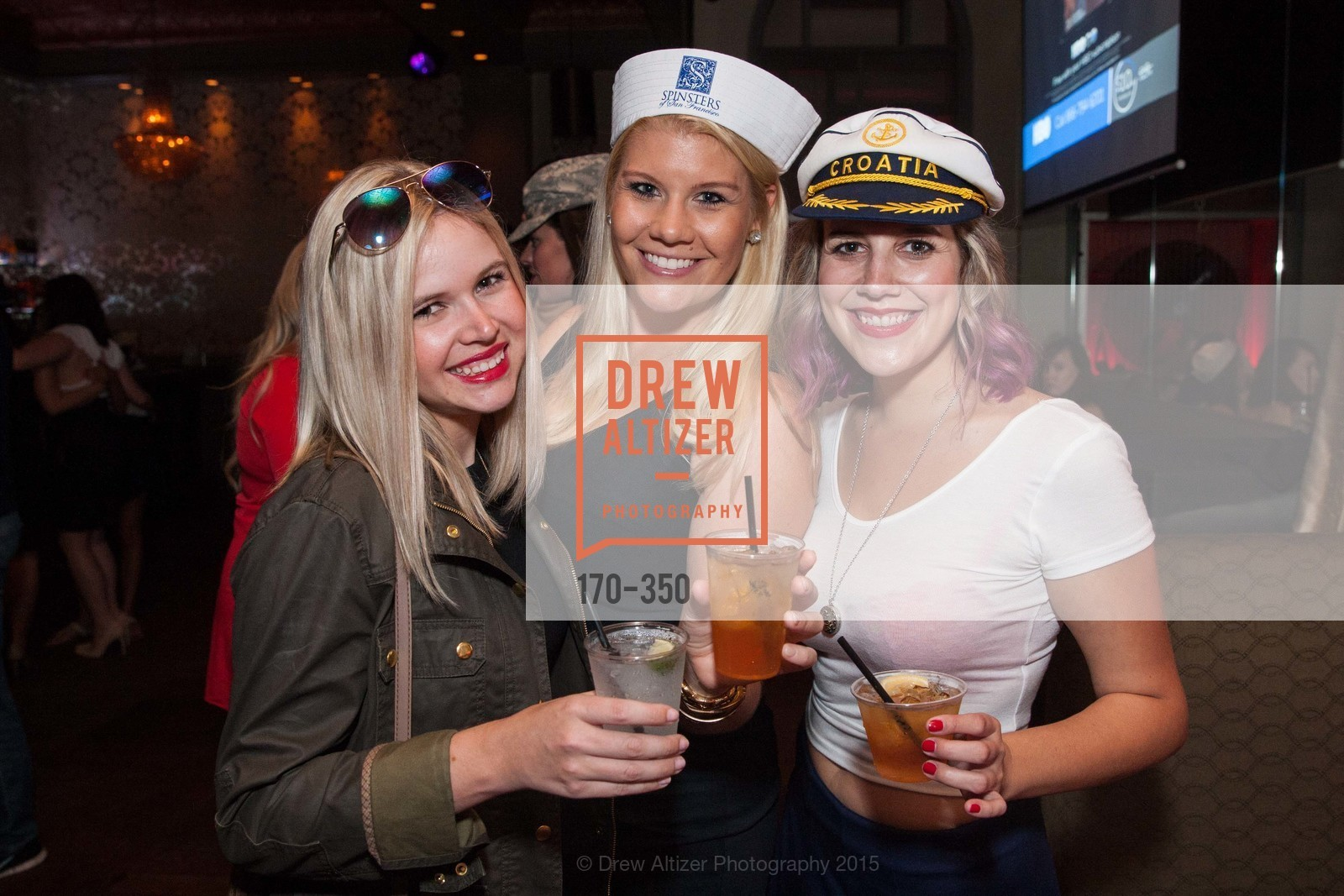Colette Whitney, Liz Curtis, Jeanette LeFevre, Spinsters of San Francisco Presents: Fleet or Flight, Mayes Oyster House. 1233 Polk St, October 9th, 2015,Drew Altizer, Drew Altizer Photography, full-service agency, private events, San Francisco photographer, photographer california