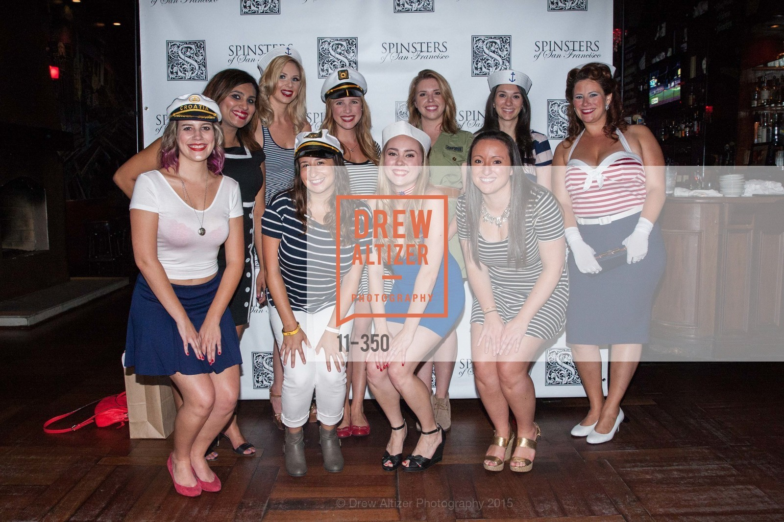 Jeanette LeFevre, Teesta Kaur, Kelly Mulcahy, Lauren Birnbaum, Courtney Costello, Shannon Meagher, Sara Moynihan, Genevieve Meyers, Xanadu Bruggers, Alex Black, Spinsters of San Francisco Presents: Fleet or Flight, Mayes Oyster House. 1233 Polk St, October 9th, 2015,Drew Altizer, Drew Altizer Photography, full-service agency, private events, San Francisco photographer, photographer california