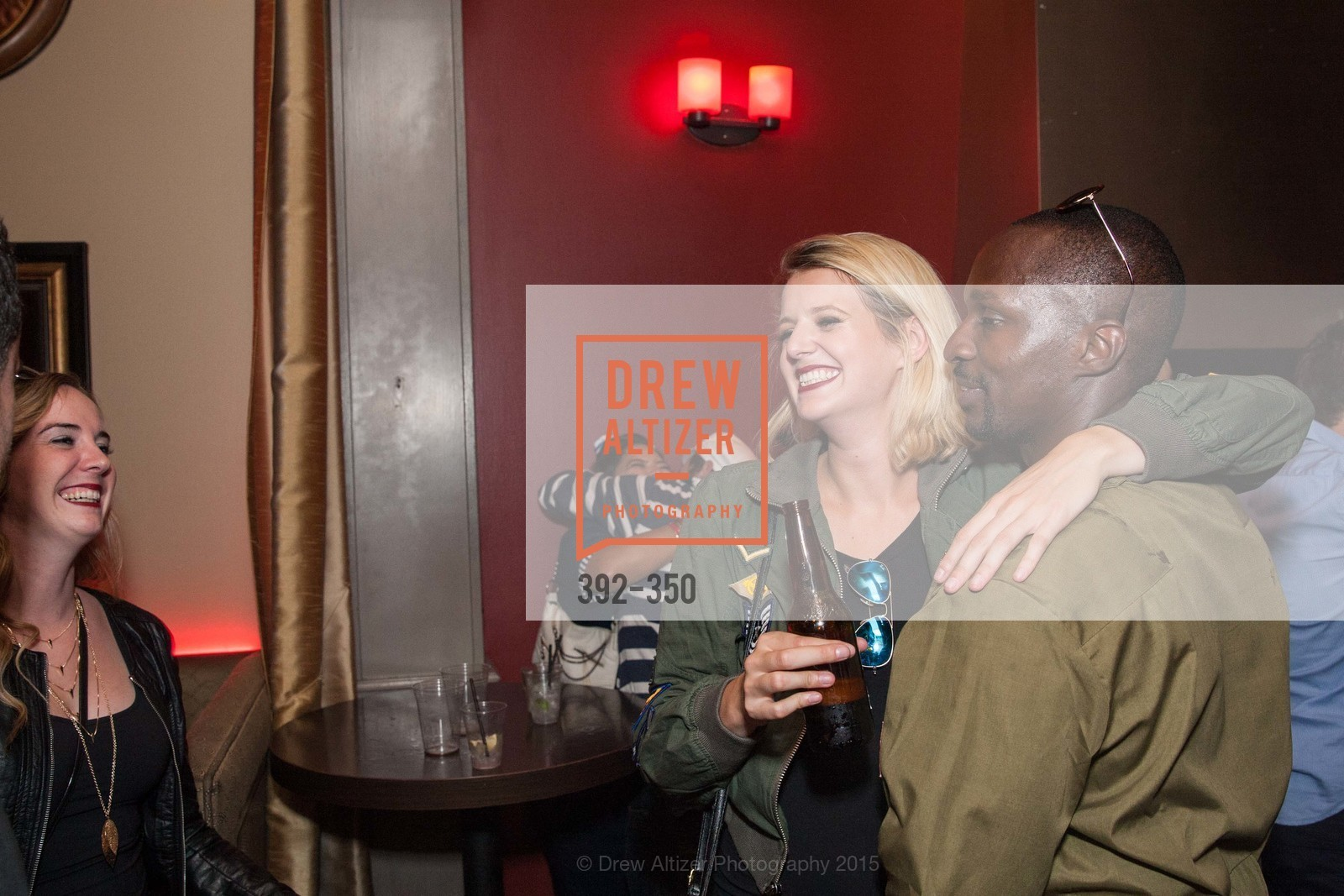 Maggie McCarthy, Kolapo Odujinrin, Spinsters of San Francisco Presents: Fleet or Flight, Mayes Oyster House. 1233 Polk St, October 9th, 2015,Drew Altizer, Drew Altizer Photography, full-service agency, private events, San Francisco photographer, photographer california