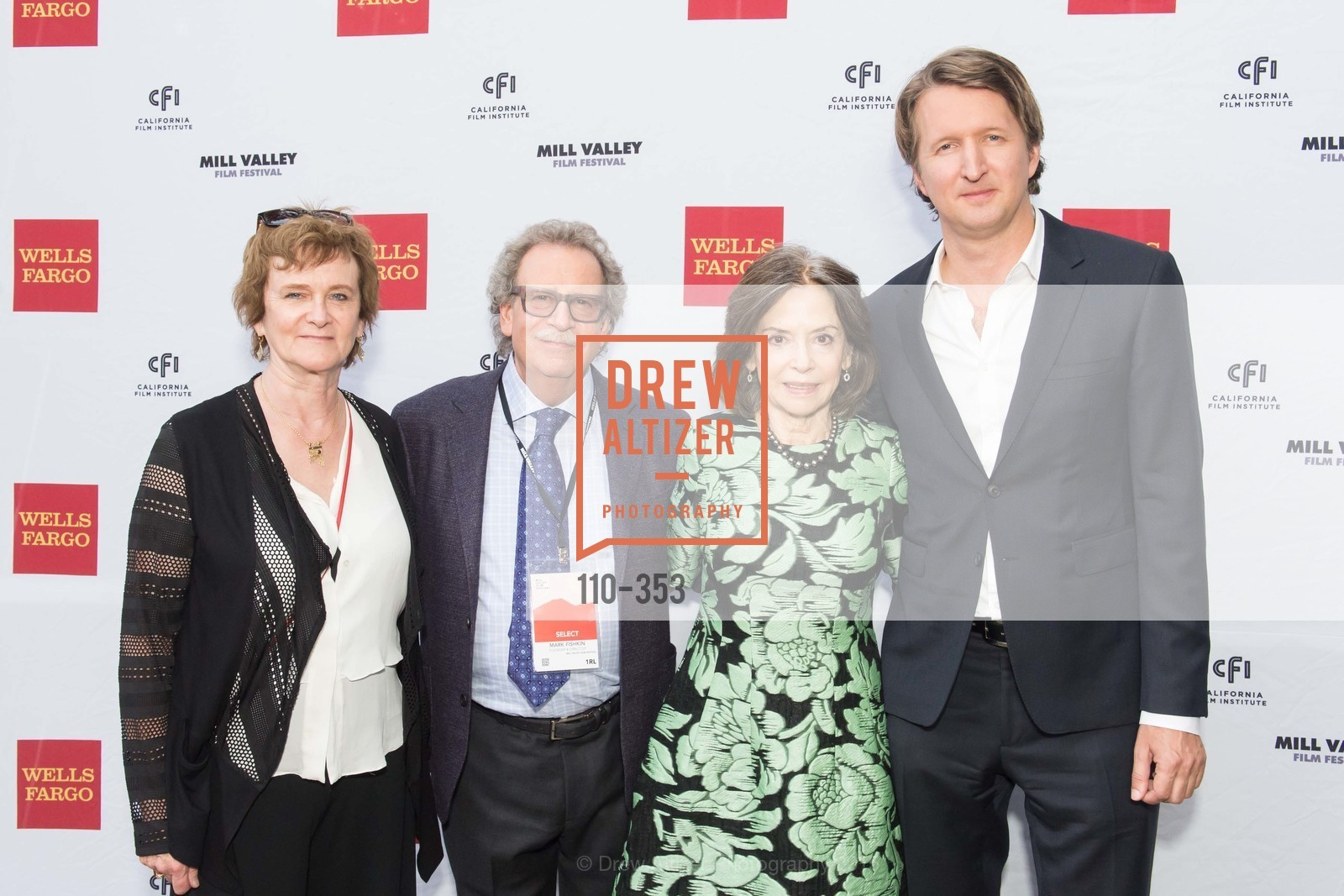 Zoe Elton, Mark Fishkin, Gail Mutrux, Tom Hooper, Mill Valley Film Festival Opening Night VIP Reception, Outdoor Art Club. 1 W Blithedale Ave, October 8th, 2015,Drew Altizer, Drew Altizer Photography, full-service agency, private events, San Francisco photographer, photographer california