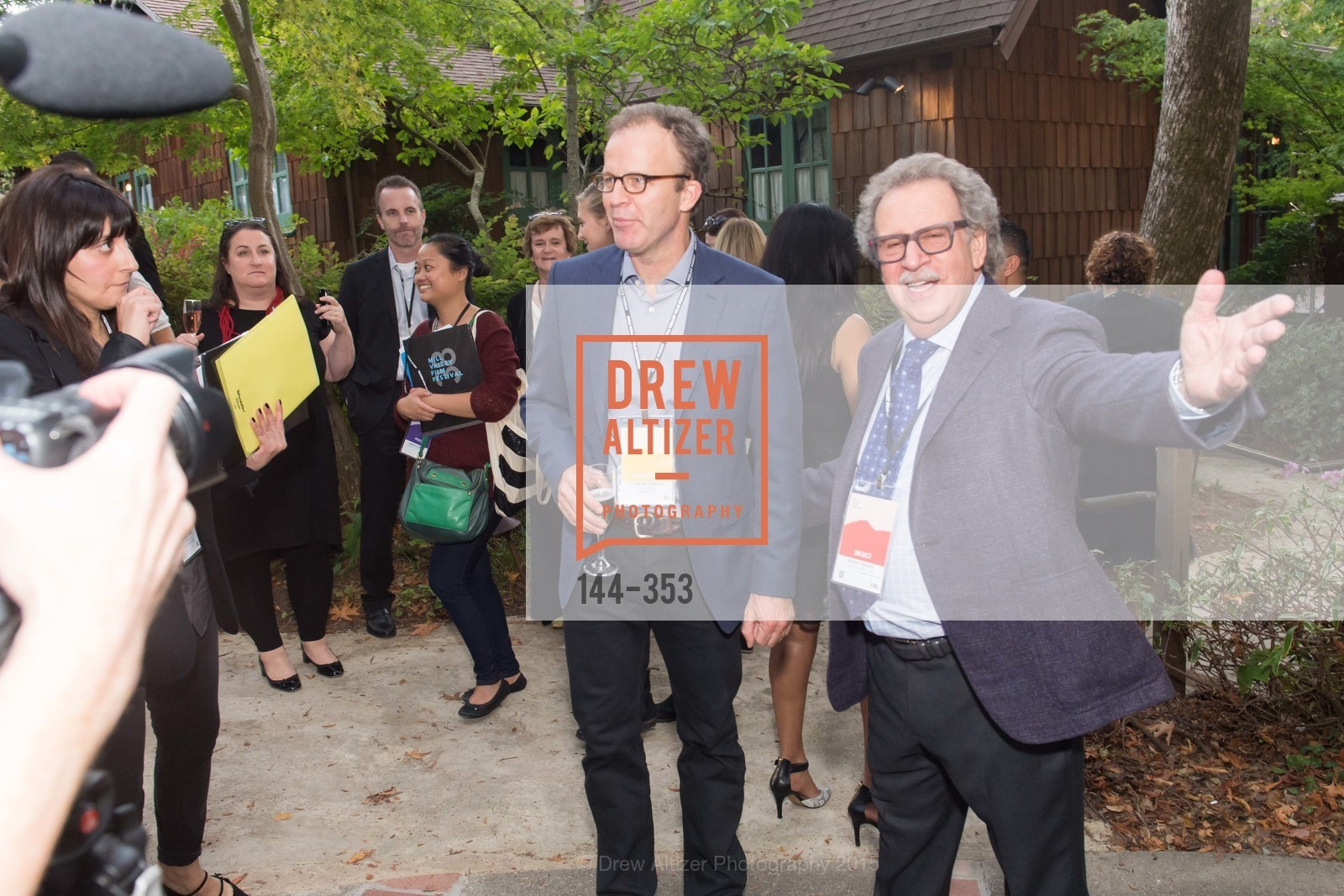 Tom McCarthy, Mark Fishkin, Mill Valley Film Festival Opening Night VIP Reception, Outdoor Art Club. 1 W Blithedale Ave, October 8th, 2015,Drew Altizer, Drew Altizer Photography, full-service agency, private events, San Francisco photographer, photographer california