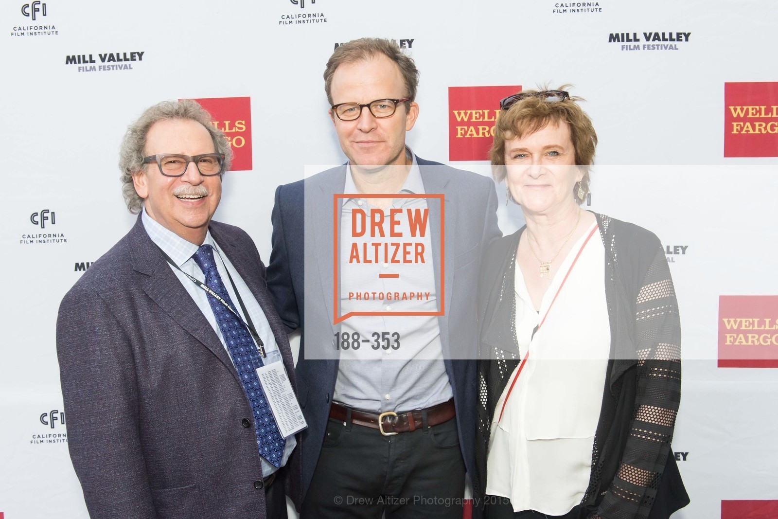 Mark Fishkin, Tom McCarthy, Zoe Elton, Mill Valley Film Festival Opening Night VIP Reception, Outdoor Art Club. 1 W Blithedale Ave, October 8th, 2015,Drew Altizer, Drew Altizer Photography, full-service agency, private events, San Francisco photographer, photographer california