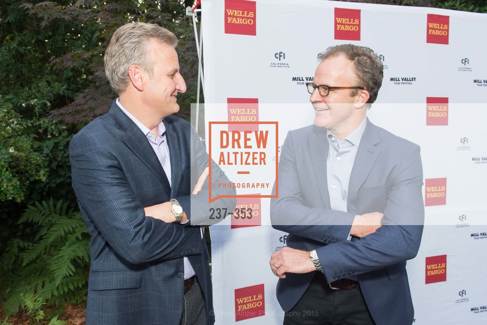 Jeff Johnson, Tom McCarthy, Mill Valley Film Festival Opening Night VIP Reception, Outdoor Art Club. 1 W Blithedale Ave, October 8th, 2015,Drew Altizer, Drew Altizer Photography, full-service agency, private events, San Francisco photographer, photographer california