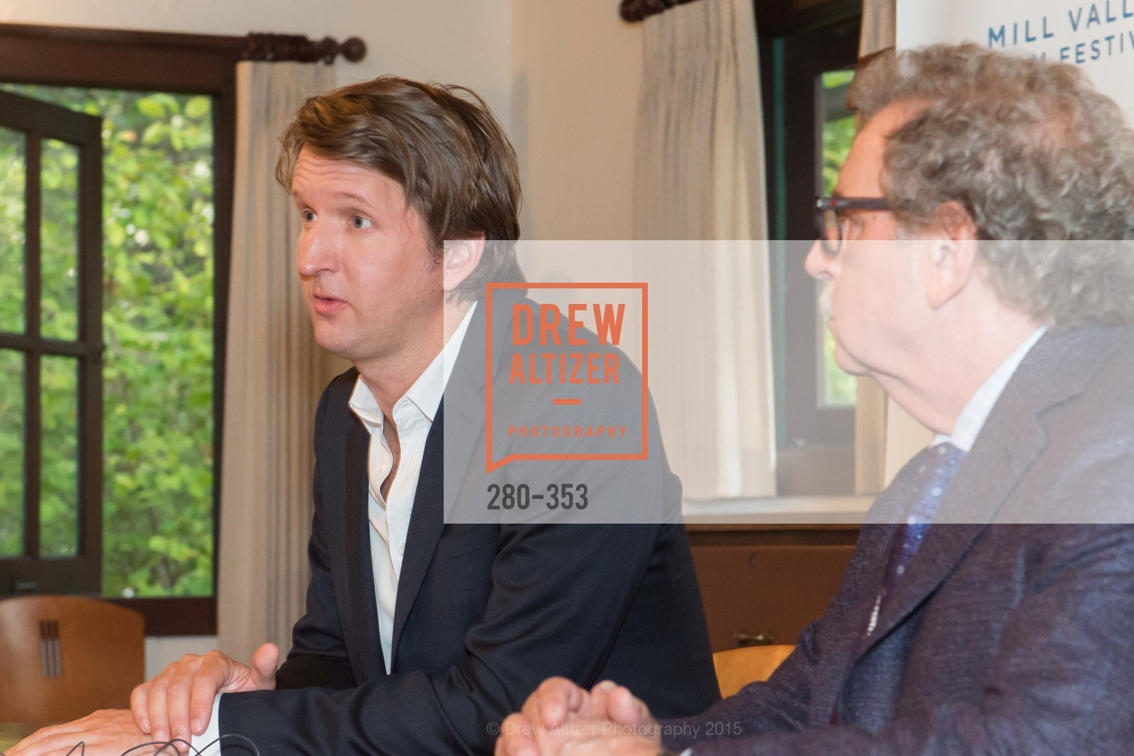 Tom Hooper, Mark Fishkin, Mill Valley Film Festival Opening Night VIP Reception, Outdoor Art Club. 1 W Blithedale Ave, October 8th, 2015,Drew Altizer, Drew Altizer Photography, full-service agency, private events, San Francisco photographer, photographer california