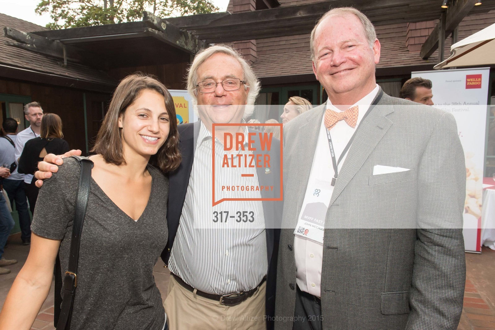 Jacqueline Wachtel, Tom Wachtel, John McCollin, Mill Valley Film Festival Opening Night VIP Reception, Outdoor Art Club. 1 W Blithedale Ave, October 8th, 2015,Drew Altizer, Drew Altizer Photography, full-service agency, private events, San Francisco photographer, photographer california