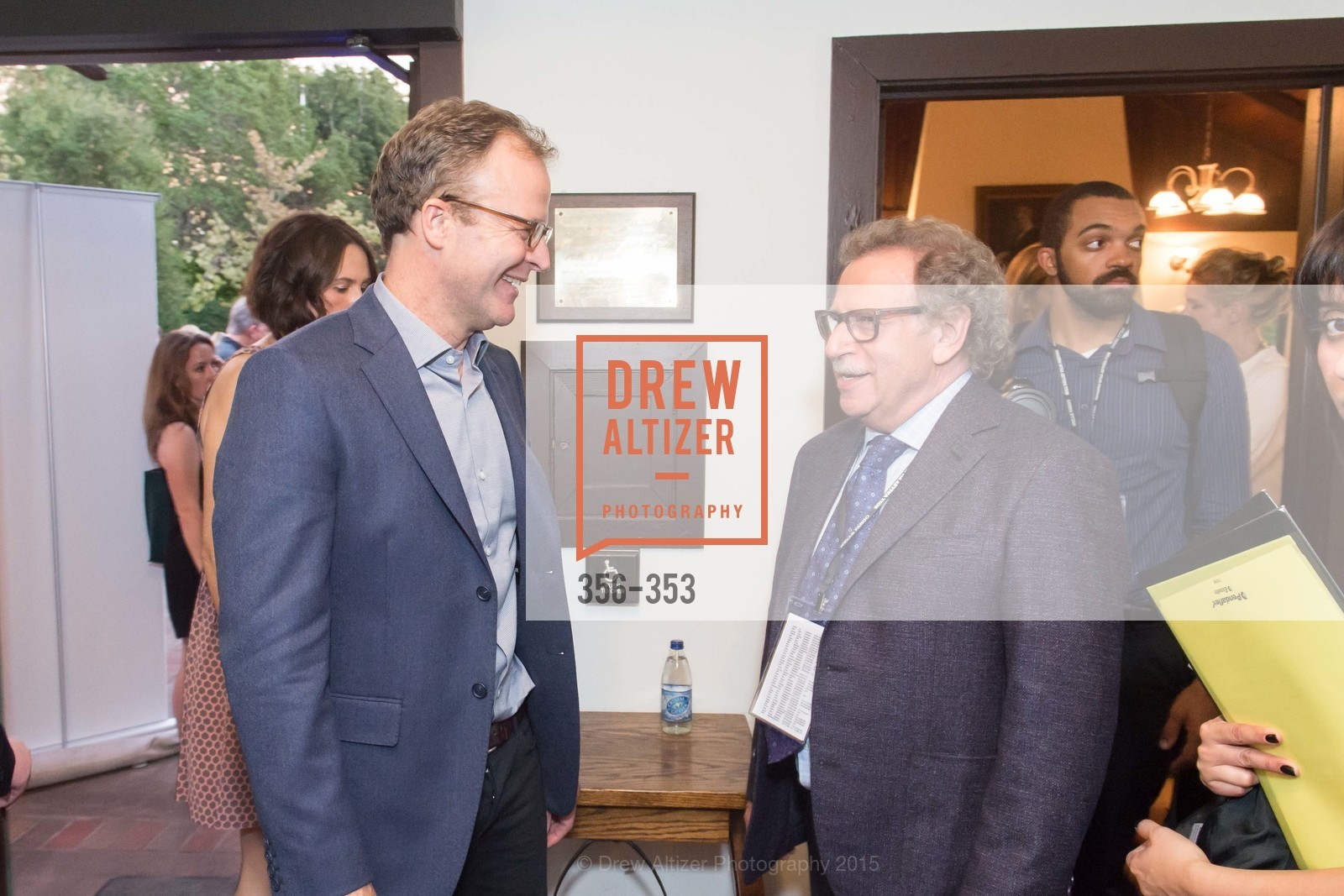 Mark Fishkin, Tom McCarthy, Mill Valley Film Festival Opening Night VIP Reception, Outdoor Art Club. 1 W Blithedale Ave, October 8th, 2015,Drew Altizer, Drew Altizer Photography, full-service agency, private events, San Francisco photographer, photographer california