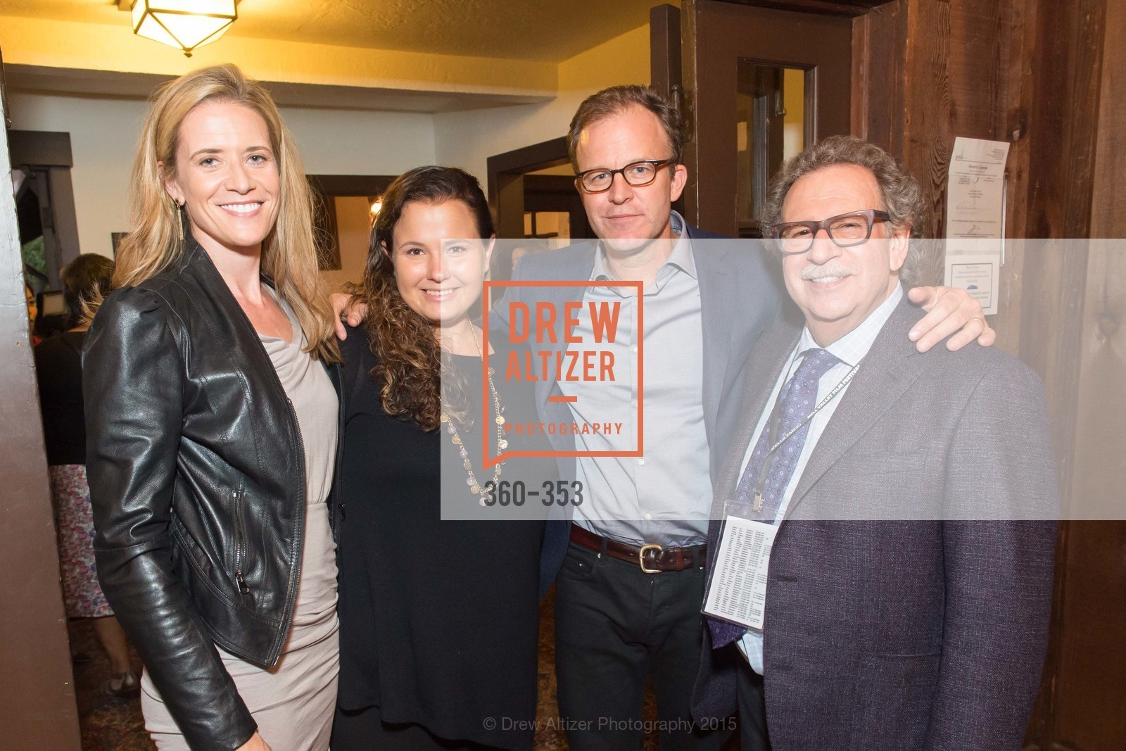 Blye Faust, Nicole Rocklin, Tom McCarthy, Mark Fishkin, Mill Valley Film Festival Opening Night VIP Reception, Outdoor Art Club. 1 W Blithedale Ave, October 8th, 2015,Drew Altizer, Drew Altizer Photography, full-service agency, private events, San Francisco photographer, photographer california