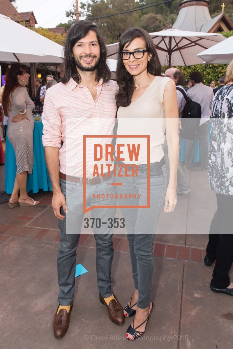 Nikhil Melnechuk, Melissa Jackson, Mill Valley Film Festival Opening Night VIP Reception, Outdoor Art Club. 1 W Blithedale Ave, October 8th, 2015,Drew Altizer, Drew Altizer Photography, full-service agency, private events, San Francisco photographer, photographer california