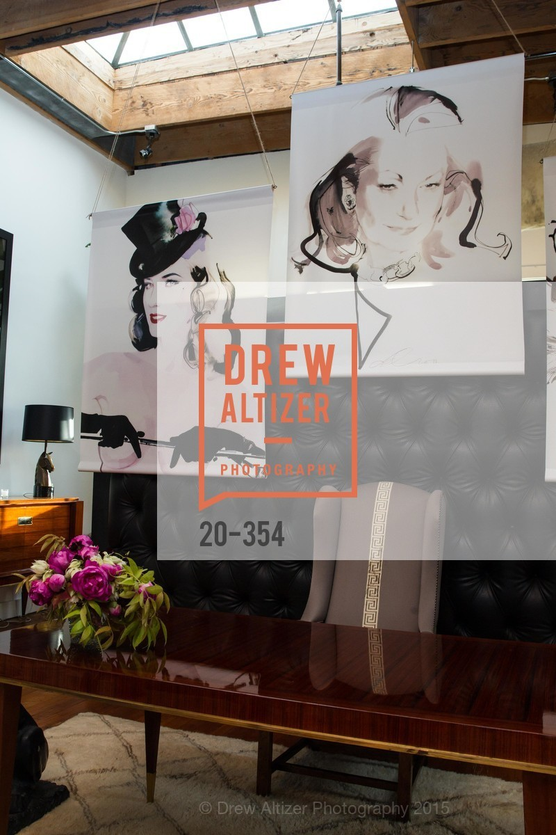 Atmosphere, Ken Fulk Hosts A David Downton Book Signing Party, Ken Fulk's Loft. 310 7th St, October 9th, 2015