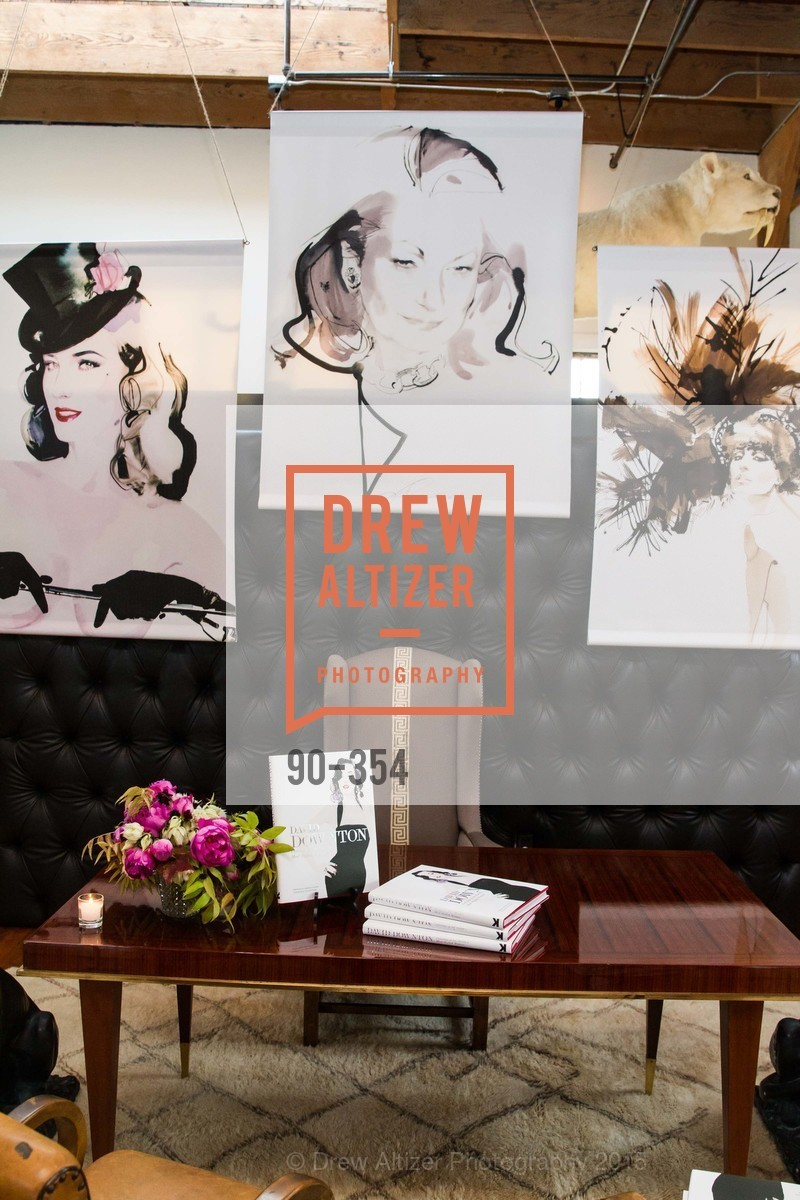 Atmosphere, Ken Fulk Hosts A David Downton Book Signing Party, Ken Fulk's Loft. 310 7th St, October 9th, 2015,Drew Altizer, Drew Altizer Photography, full-service event agency, private events, San Francisco photographer, photographer California