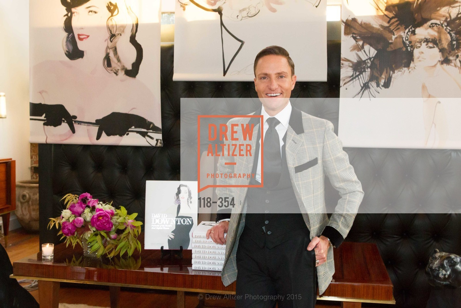 Ken Fulk, Ken Fulk Hosts A David Downton Book Signing Party, Ken Fulk's Loft. 310 7th St, October 9th, 2015,Drew Altizer, Drew Altizer Photography, full-service agency, private events, San Francisco photographer, photographer california