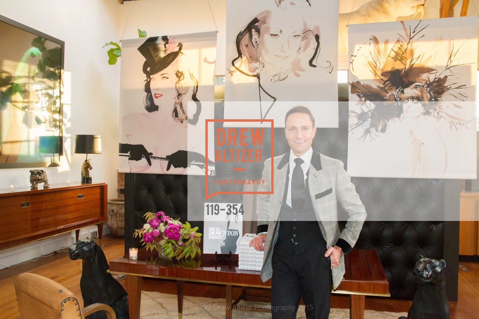 Ken Fulk, Ken Fulk Hosts A David Downton Book Signing Party, Ken Fulk's Loft. 310 7th St, October 9th, 2015,Drew Altizer, Drew Altizer Photography, full-service agency, private events, San Francisco photographer, photographer california
