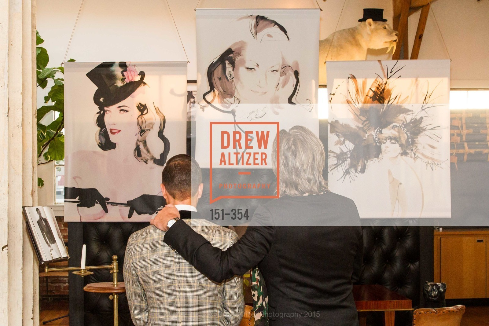 Ken Fulk, David Downton, Ken Fulk Hosts A David Downton Book Signing Party, Ken Fulk's Loft. 310 7th St, October 9th, 2015,Drew Altizer, Drew Altizer Photography, full-service event agency, private events, San Francisco photographer, photographer California