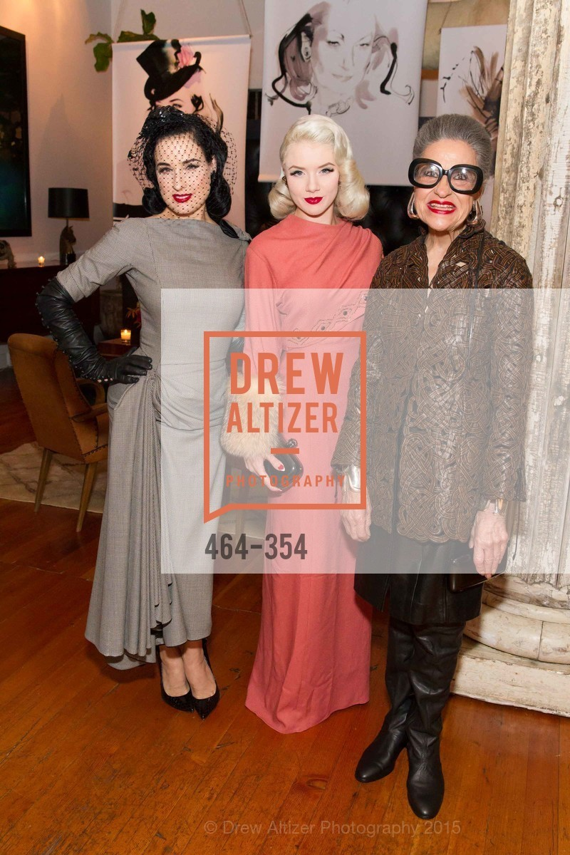 Dita Von Teese, Mosh, Joy Venturini Bianchi, Ken Fulk Hosts A David Downton Book Signing Party, Ken Fulk's Loft. 310 7th St, October 9th, 2015,Drew Altizer, Drew Altizer Photography, full-service agency, private events, San Francisco photographer, photographer california