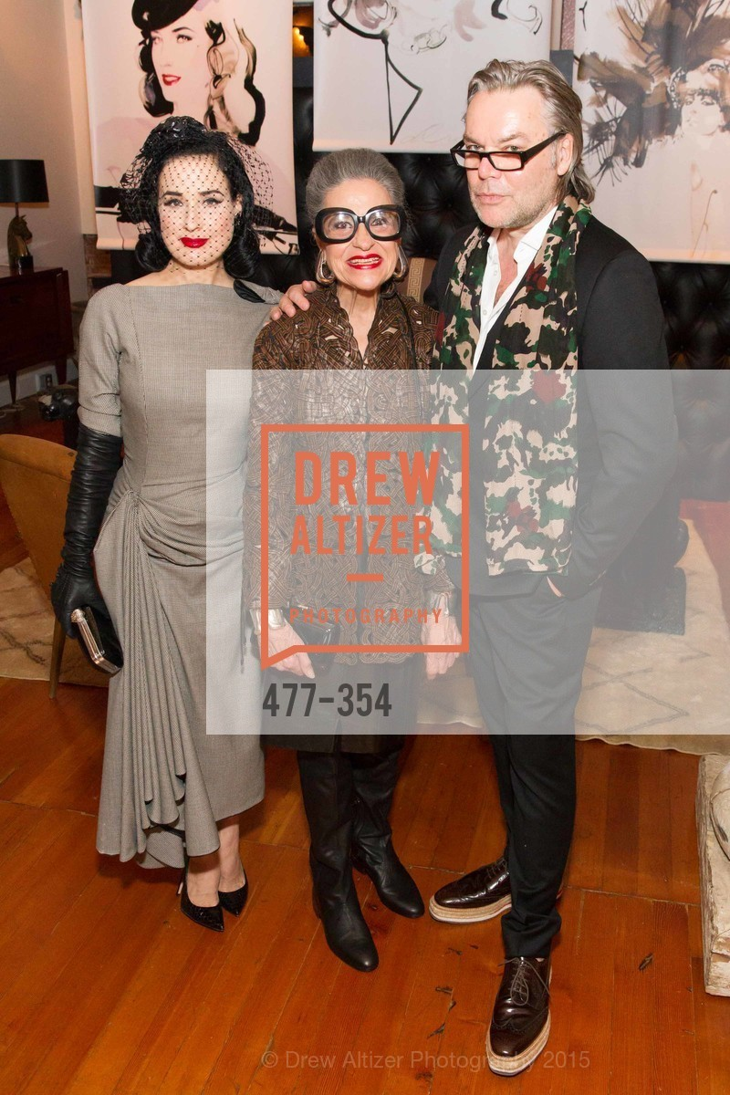 Dita Von Teese, Joy Venturini Bianchi, David Downton, Ken Fulk Hosts A David Downton Book Signing Party, Ken Fulk's Loft. 310 7th St, October 9th, 2015,Drew Altizer, Drew Altizer Photography, full-service event agency, private events, San Francisco photographer, photographer California