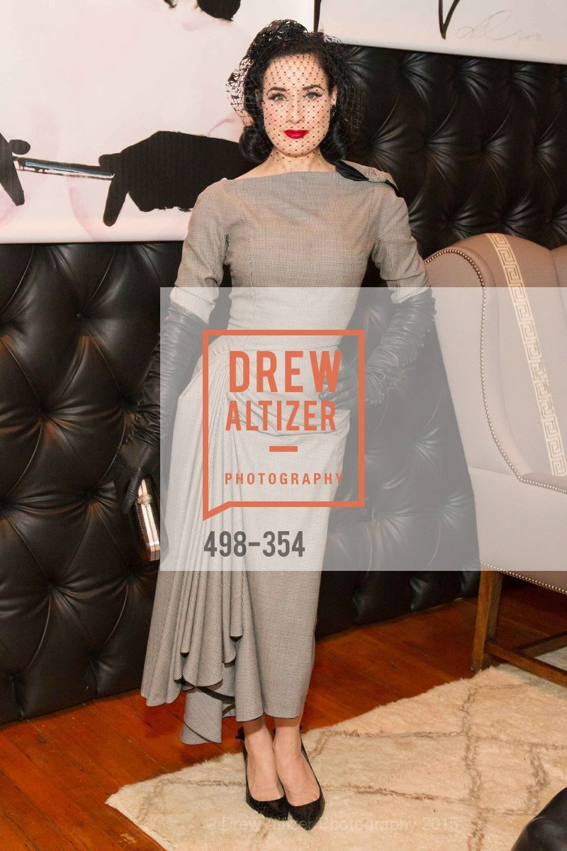 Dita Von Teese, Ken Fulk Hosts A David Downton Book Signing Party, Ken Fulk's Loft. 310 7th St, October 9th, 2015,Drew Altizer, Drew Altizer Photography, full-service agency, private events, San Francisco photographer, photographer california