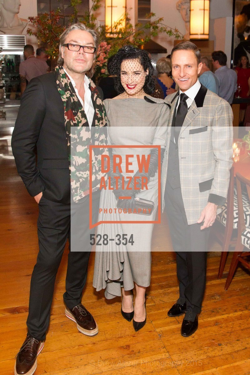 David Downton, Dita Von Teese, Ken Fulk, Ken Fulk Hosts A David Downton Book Signing Party, Ken Fulk's Loft. 310 7th St, October 9th, 2015,Drew Altizer, Drew Altizer Photography, full-service agency, private events, San Francisco photographer, photographer california