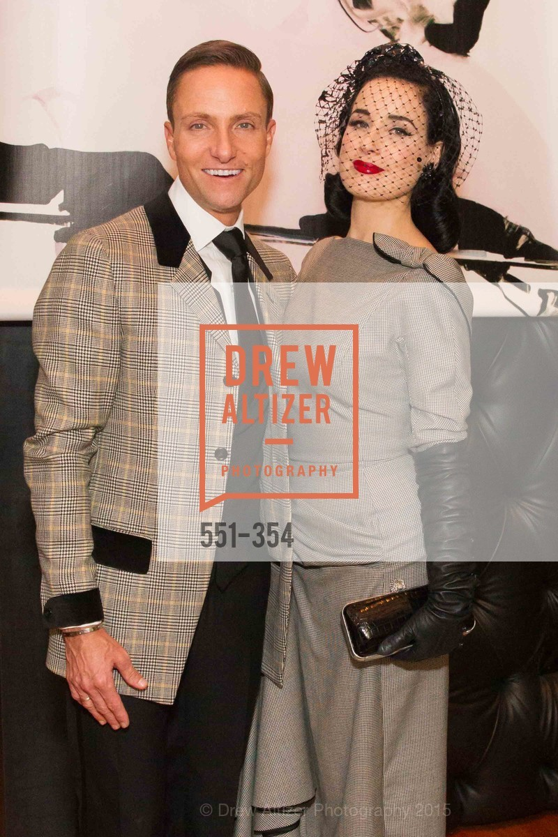 Ken Fulk, Dita Von Teese, Ken Fulk Hosts A David Downton Book Signing Party, Ken Fulk's Loft. 310 7th St, October 9th, 2015,Drew Altizer, Drew Altizer Photography, full-service agency, private events, San Francisco photographer, photographer california
