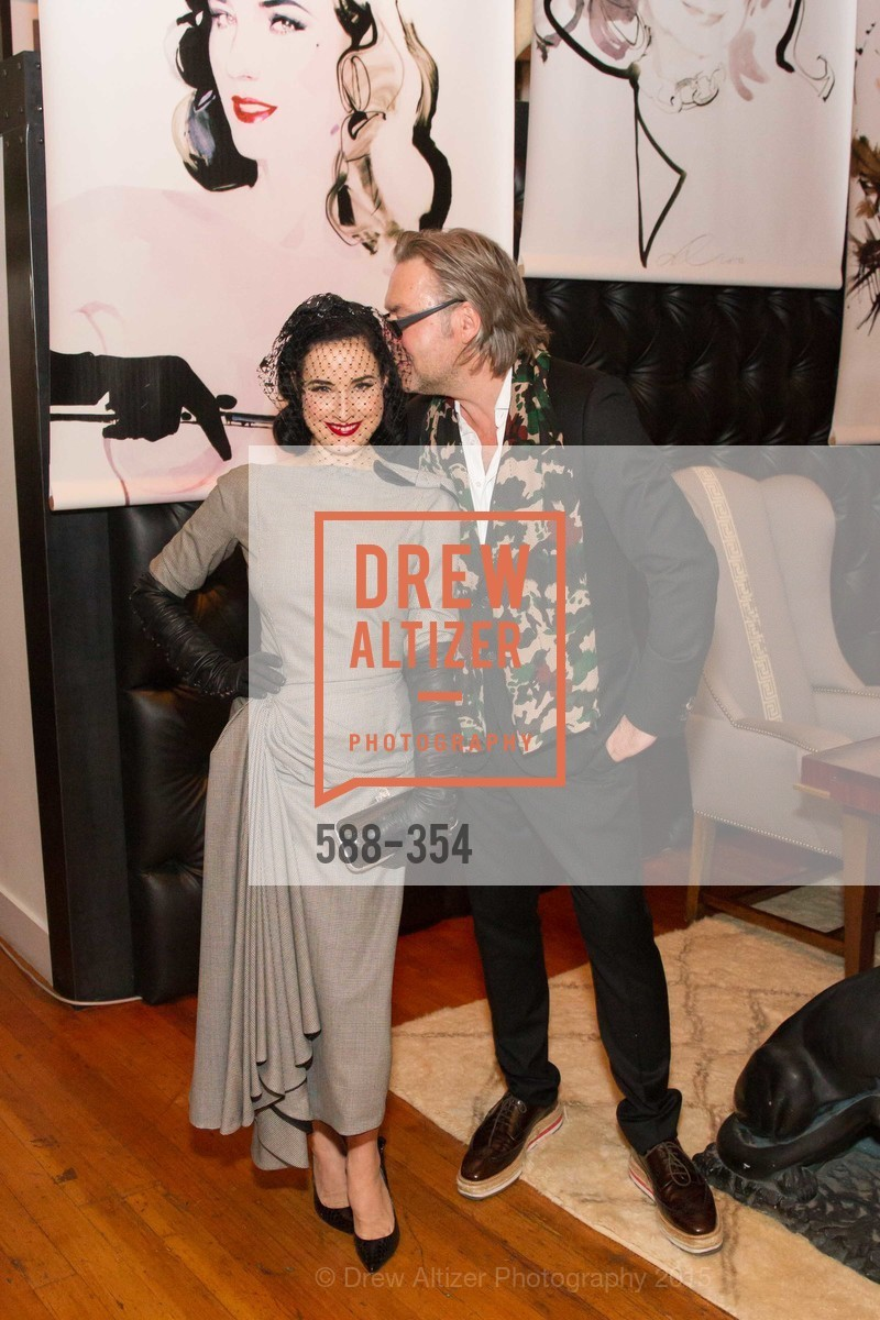 Dita Von Teese, David Downton, Ken Fulk Hosts A David Downton Book Signing Party, Ken Fulk's Loft. 310 7th St, October 9th, 2015,Drew Altizer, Drew Altizer Photography, full-service event agency, private events, San Francisco photographer, photographer California
