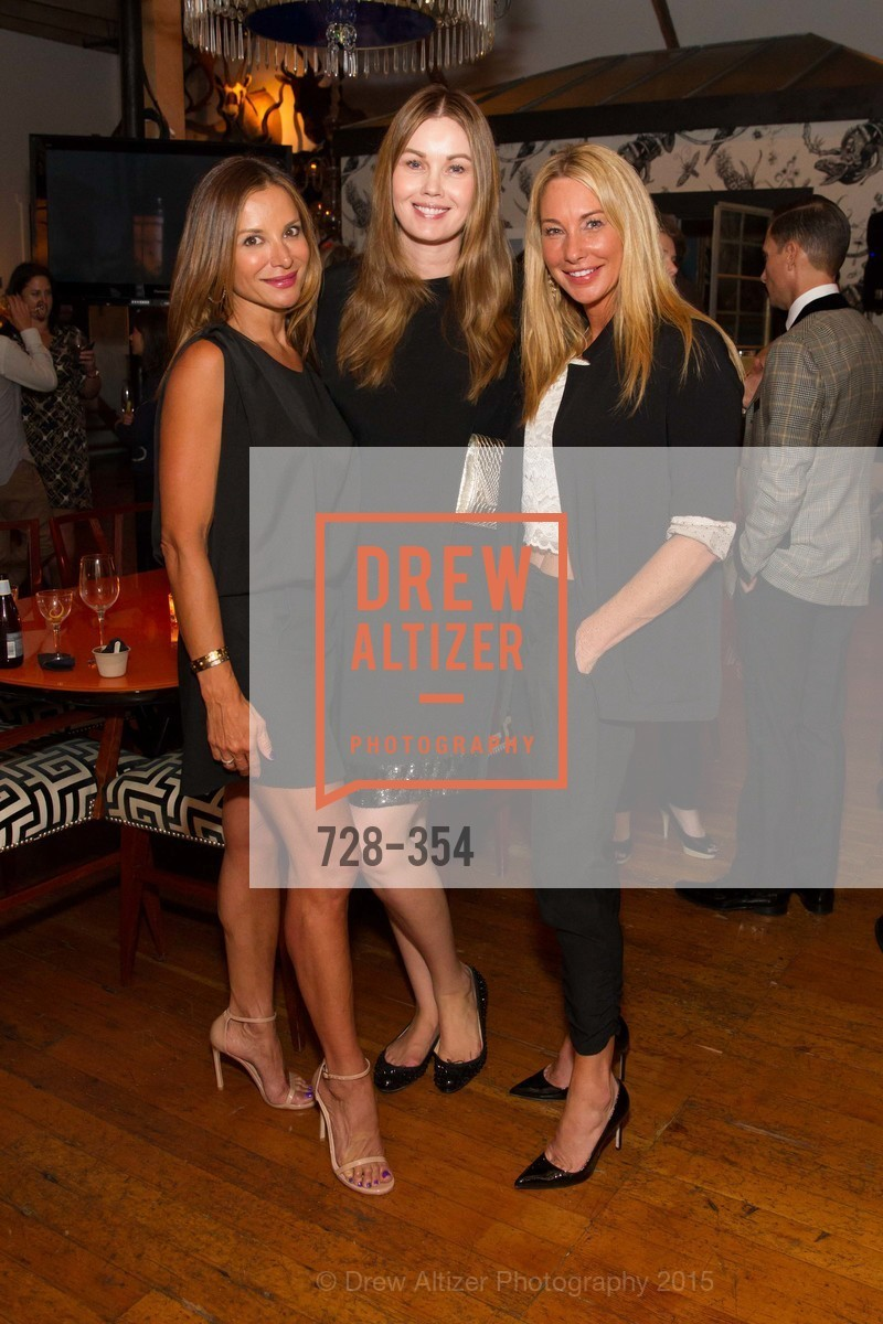 Claudia Ross, Tatiana Sorokko, Tiffany Cummins, Ken Fulk Hosts A David Downton Book Signing Party, Ken Fulk's Loft. 310 7th St, October 9th, 2015,Drew Altizer, Drew Altizer Photography, full-service event agency, private events, San Francisco photographer, photographer California