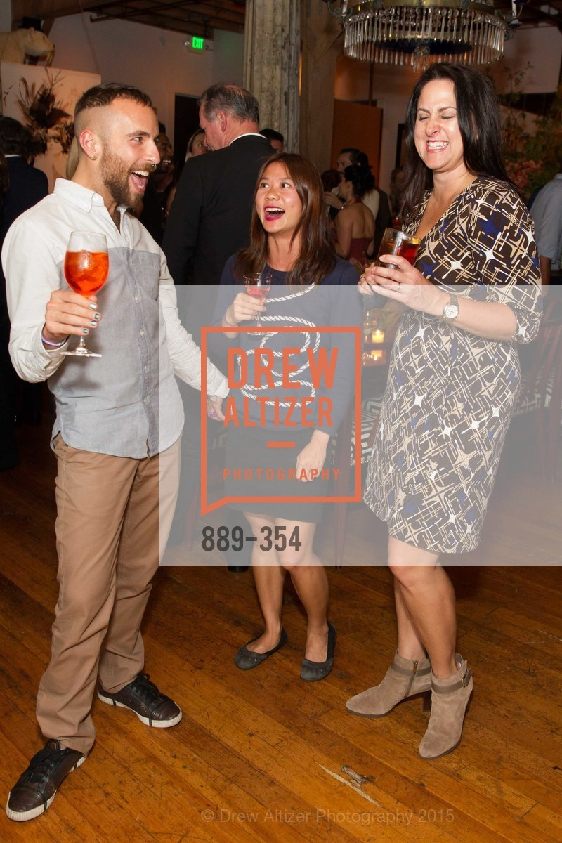 Timor Tugbert, Sabrina Seto, Julie Schmidt, Ken Fulk Hosts A David Downton Book Signing Party, Ken Fulk's Loft. 310 7th St, October 9th, 2015,Drew Altizer, Drew Altizer Photography, full-service agency, private events, San Francisco photographer, photographer california