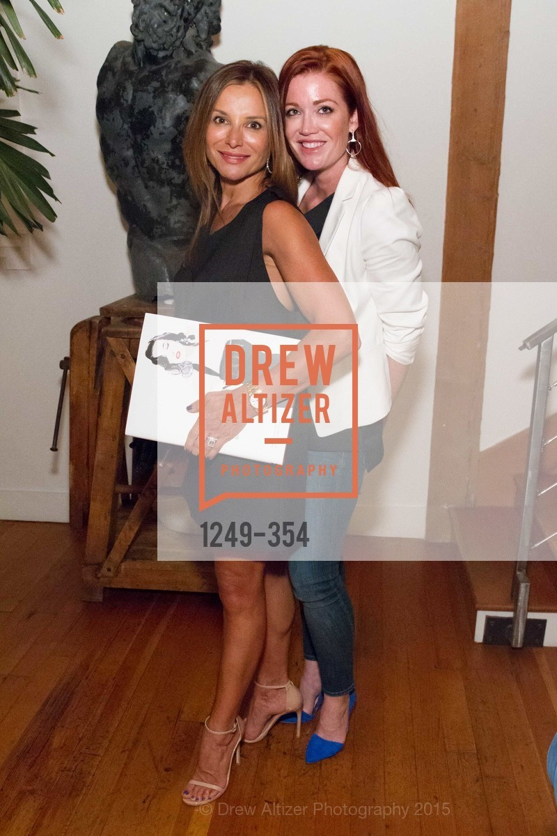 Claudia Ross, Ken Fulk Hosts A David Downton Book Signing Party, Ken Fulk's Loft. 310 7th St, October 9th, 2015,Drew Altizer, Drew Altizer Photography, full-service agency, private events, San Francisco photographer, photographer california