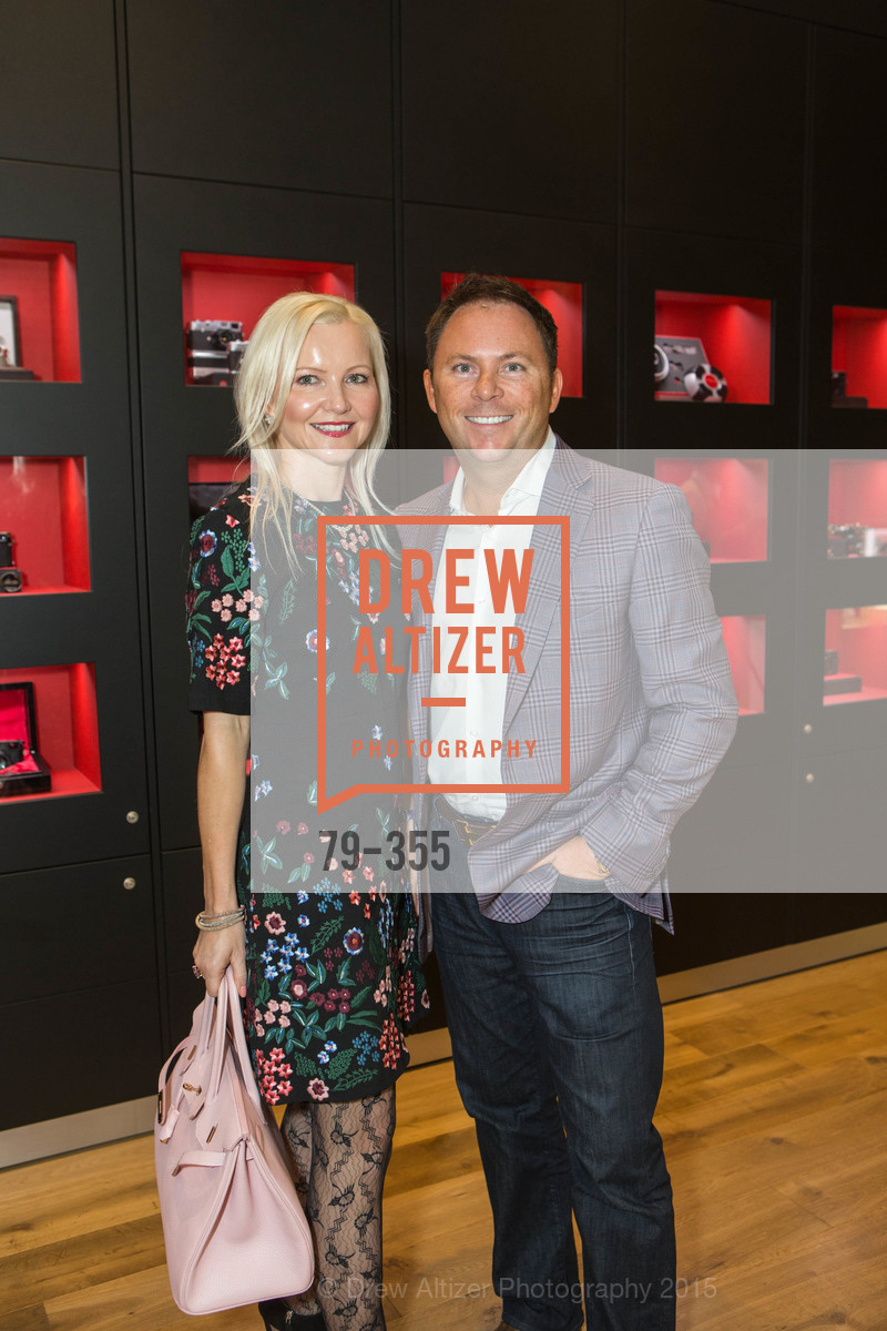 Nathalie Delrue-McGuire, Gary McGuire, SFMOMA Contemporary Vision Award Launch Party, Leica. 463 Bush St, October 8th, 2015,Drew Altizer, Drew Altizer Photography, full-service agency, private events, San Francisco photographer, photographer california
