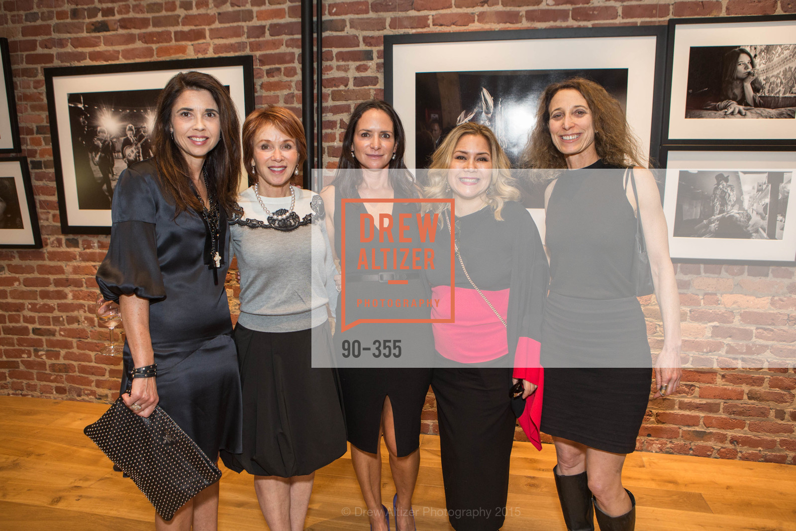 Candace Cavanaugh, Randi Binstock, Courtney Dallaire, Michaela van Zwoll, Lisa Black, SFMOMA Contemporary Vision Award Launch Party, Leica. 463 Bush St, October 8th, 2015,Drew Altizer, Drew Altizer Photography, full-service agency, private events, San Francisco photographer, photographer california