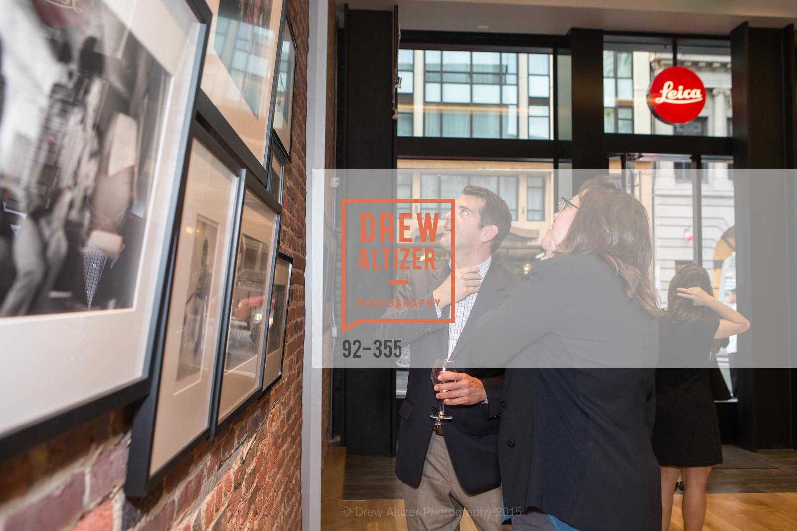John Clamme, Samantha Leo, SFMOMA Contemporary Vision Award Launch Party, Leica. 463 Bush St, October 8th, 2015,Drew Altizer, Drew Altizer Photography, full-service agency, private events, San Francisco photographer, photographer california