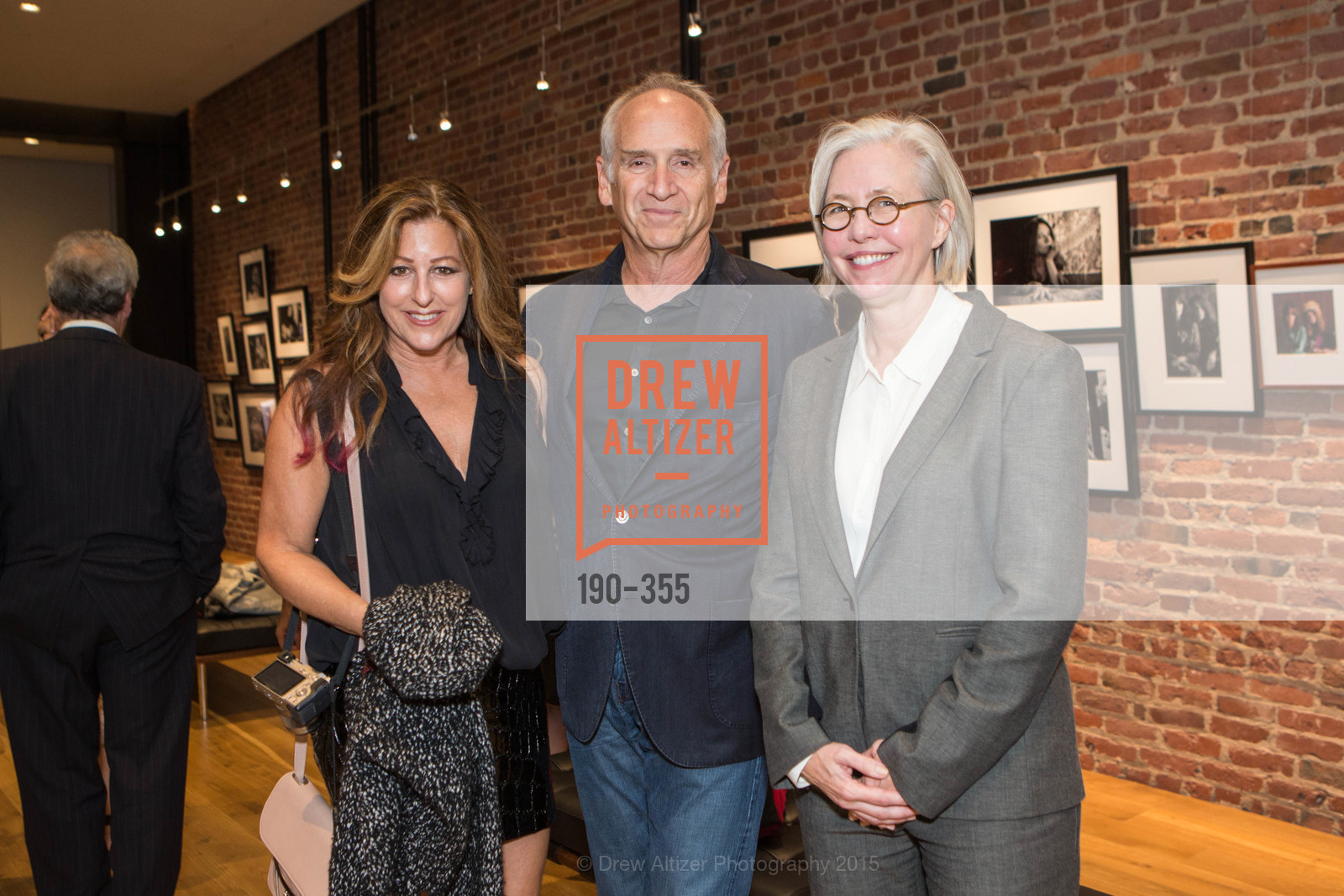 Victoria Loren Miller, Greg Sieck, Nan Keeton, SFMOMA Contemporary Vision Award Launch Party, Leica. 463 Bush St, October 8th, 2015,Drew Altizer, Drew Altizer Photography, full-service agency, private events, San Francisco photographer, photographer california